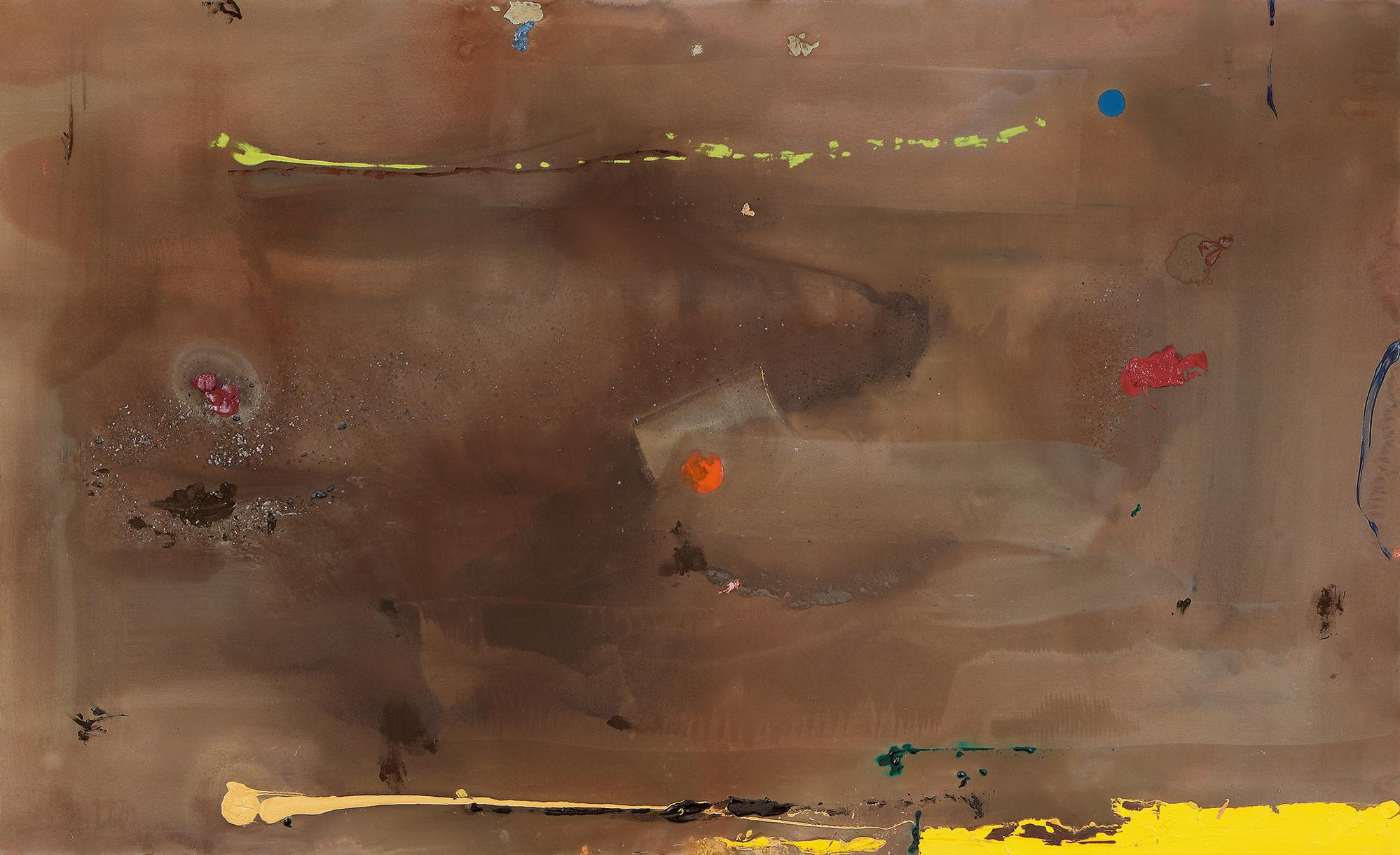 Helen Frankenthaler-Weights And Shapes-1983