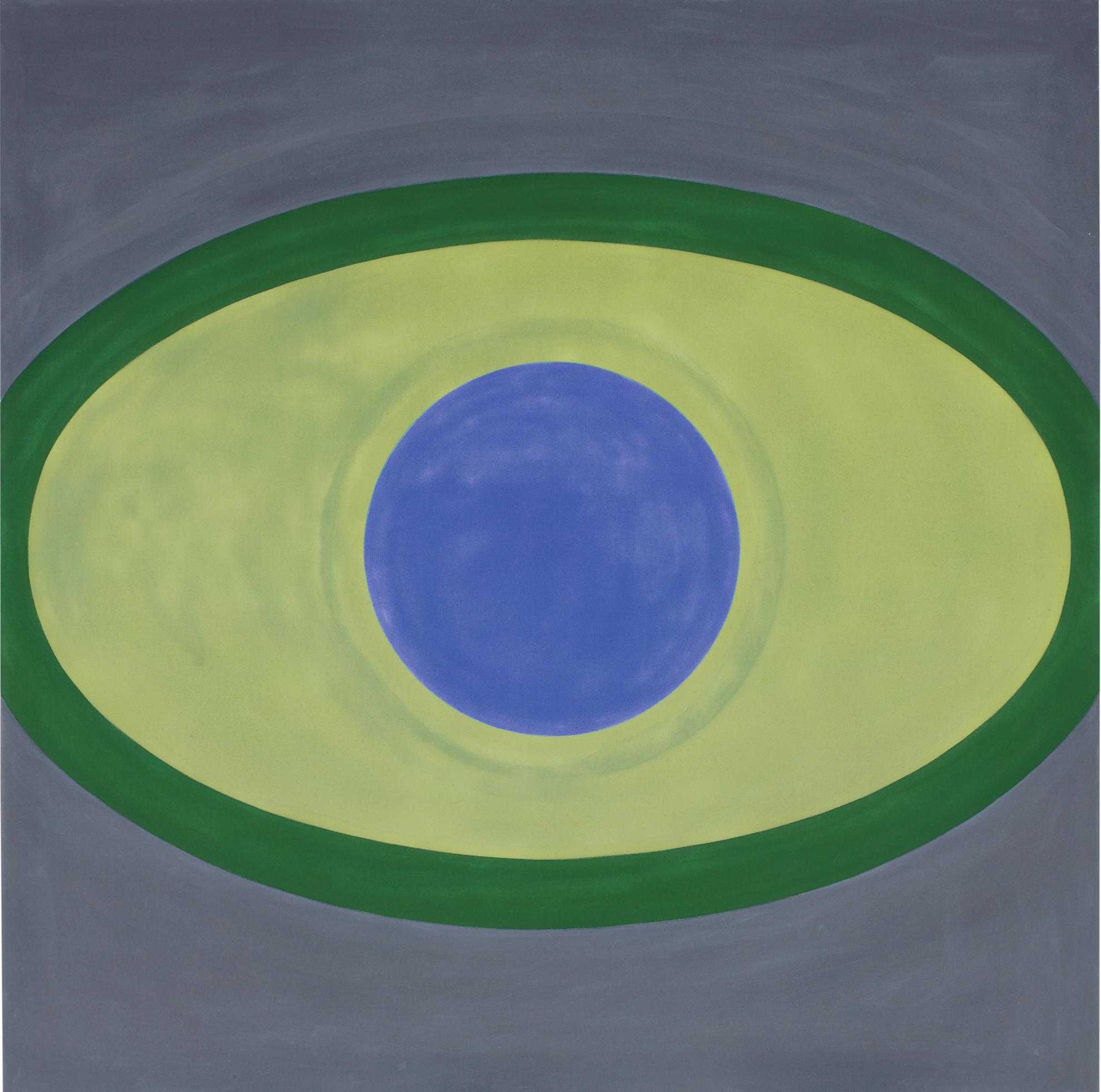 Kenneth Noland-Lapis Lazuli-1963