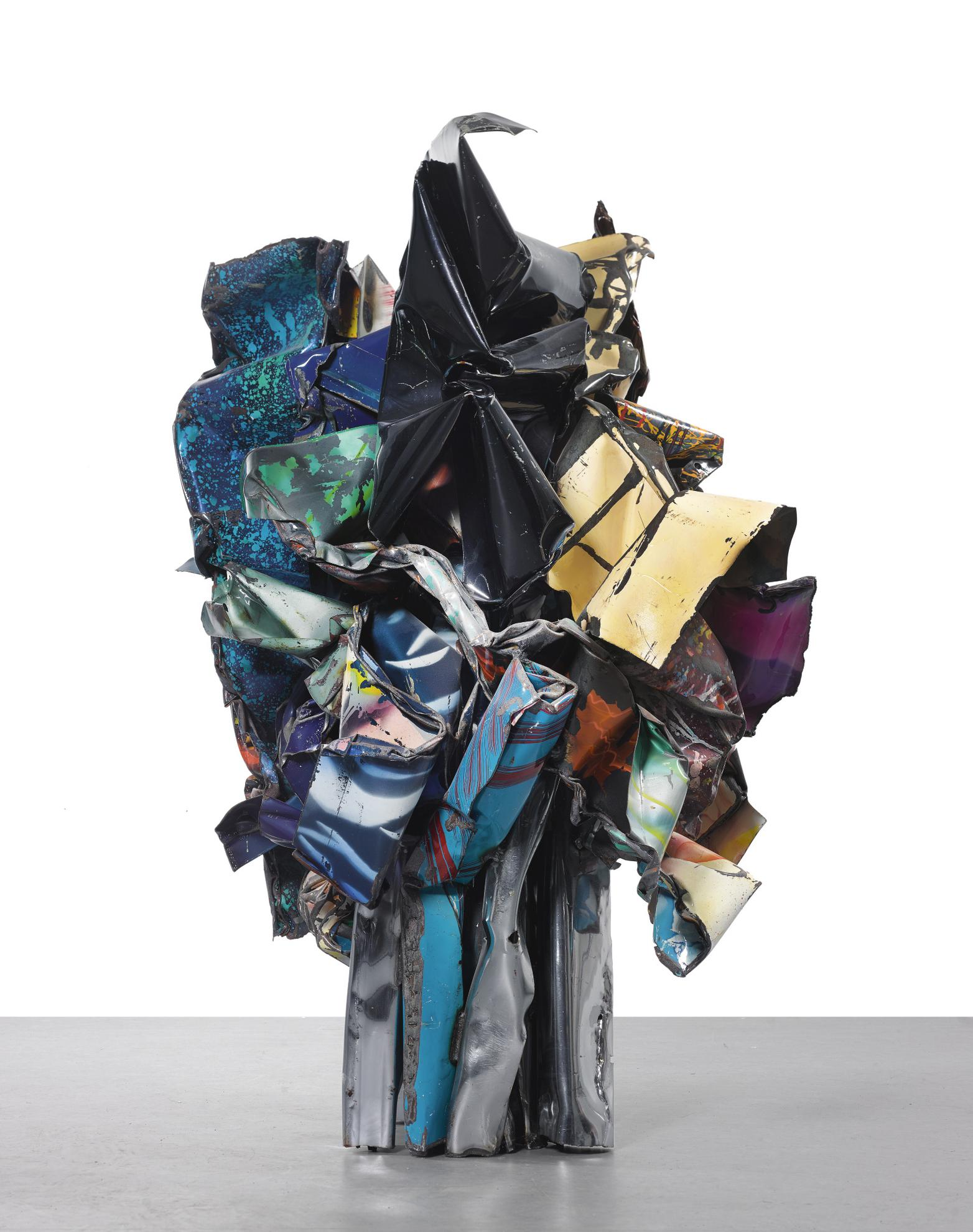 John Chamberlain-Untitled-1988