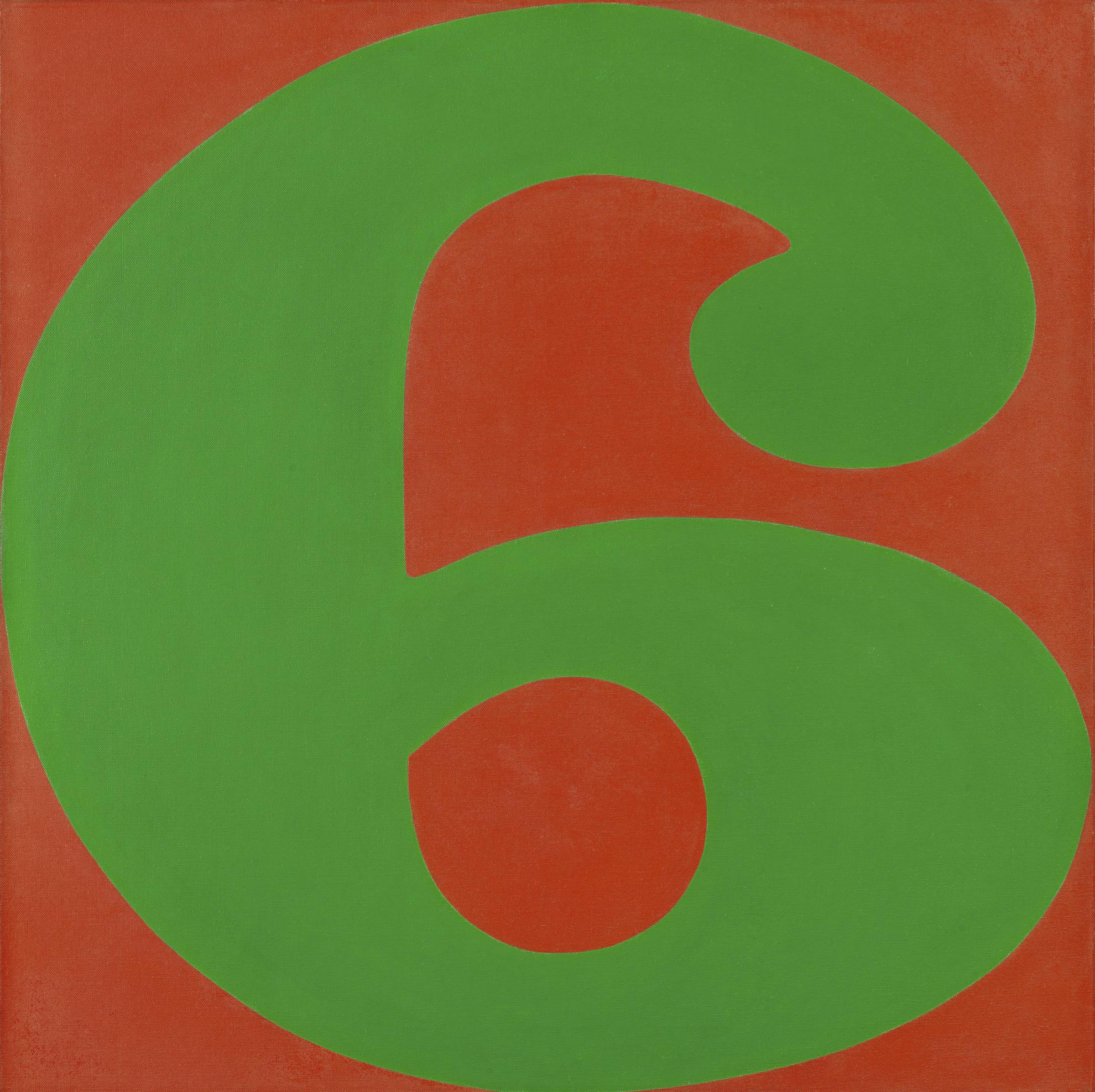 Robert Indiana-Six-1965