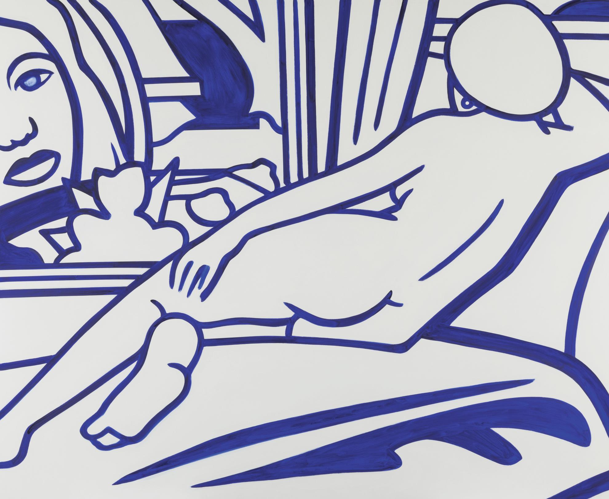 Tom Wesselmann-Pat Nude (Blue)-2003