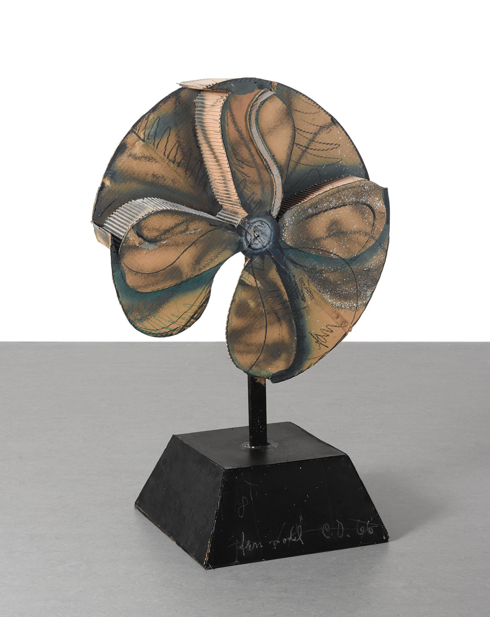 Claes Oldenburg-Fan Model (Hard)-1966