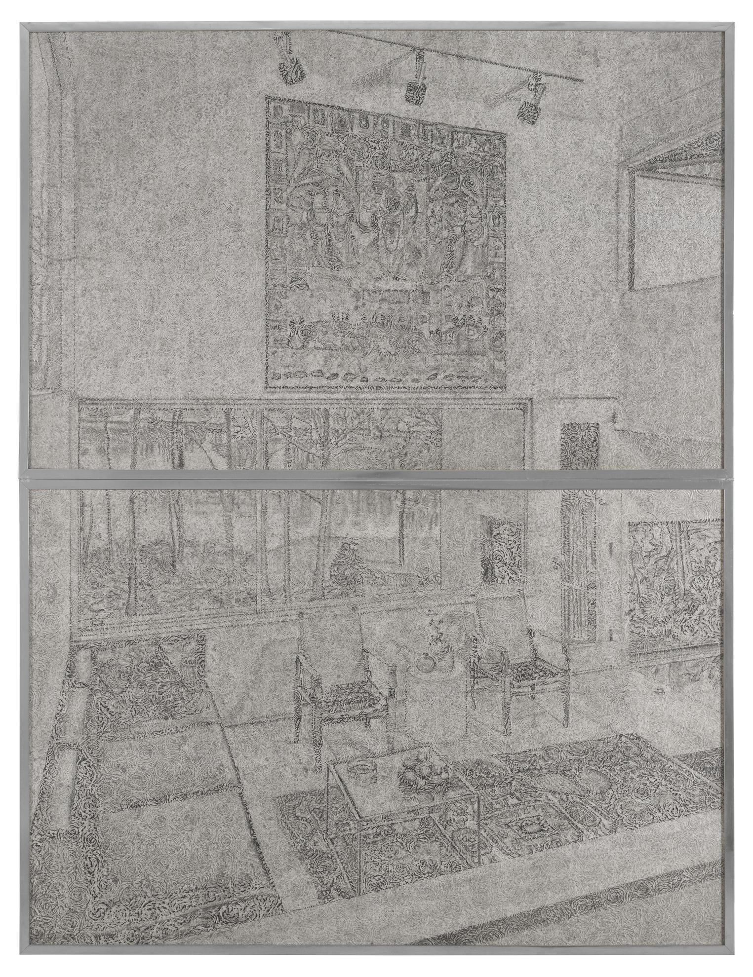 Richard Artschwager-Interior (West)-1973