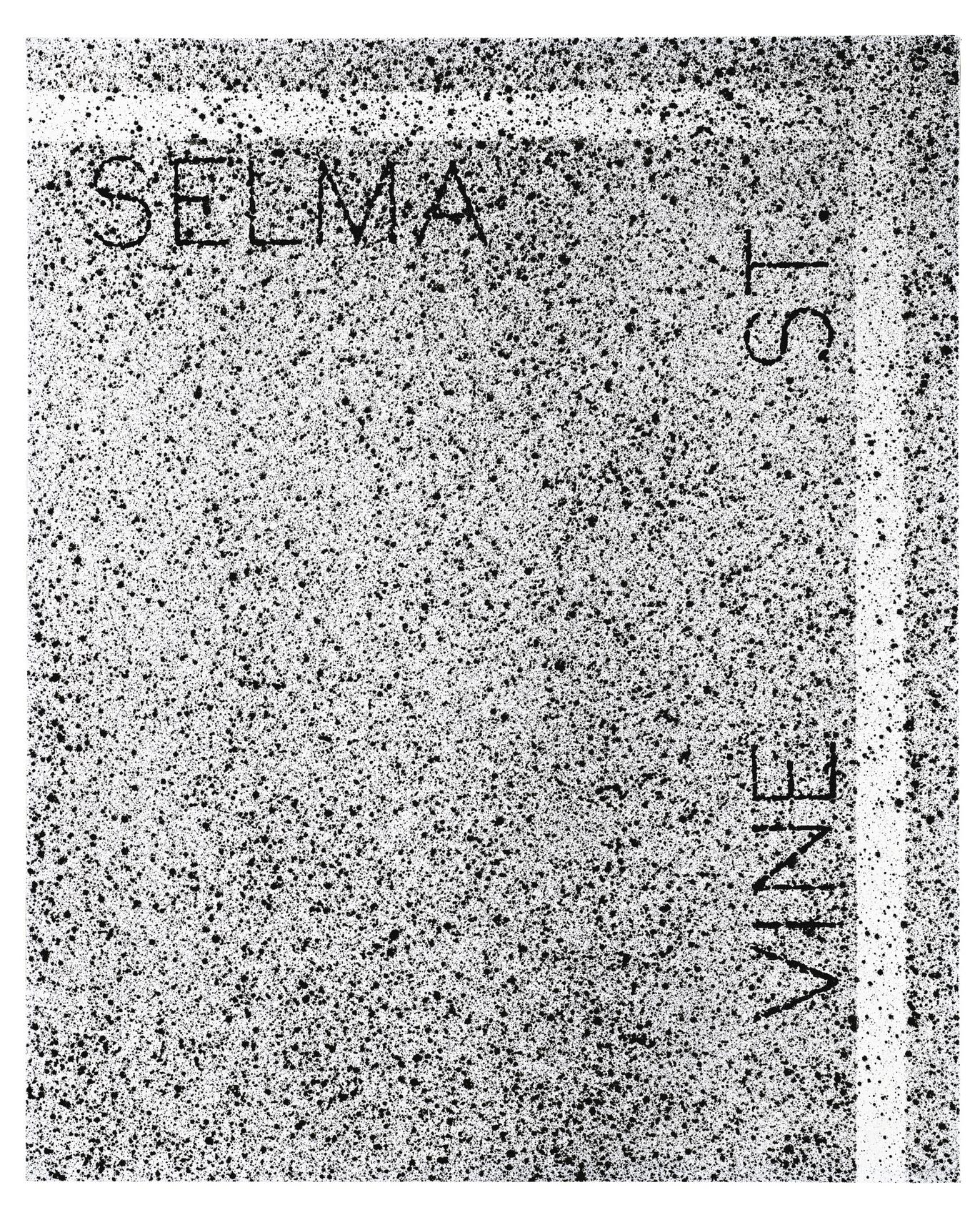 Ed Ruscha-Selma And Vine St.-1999