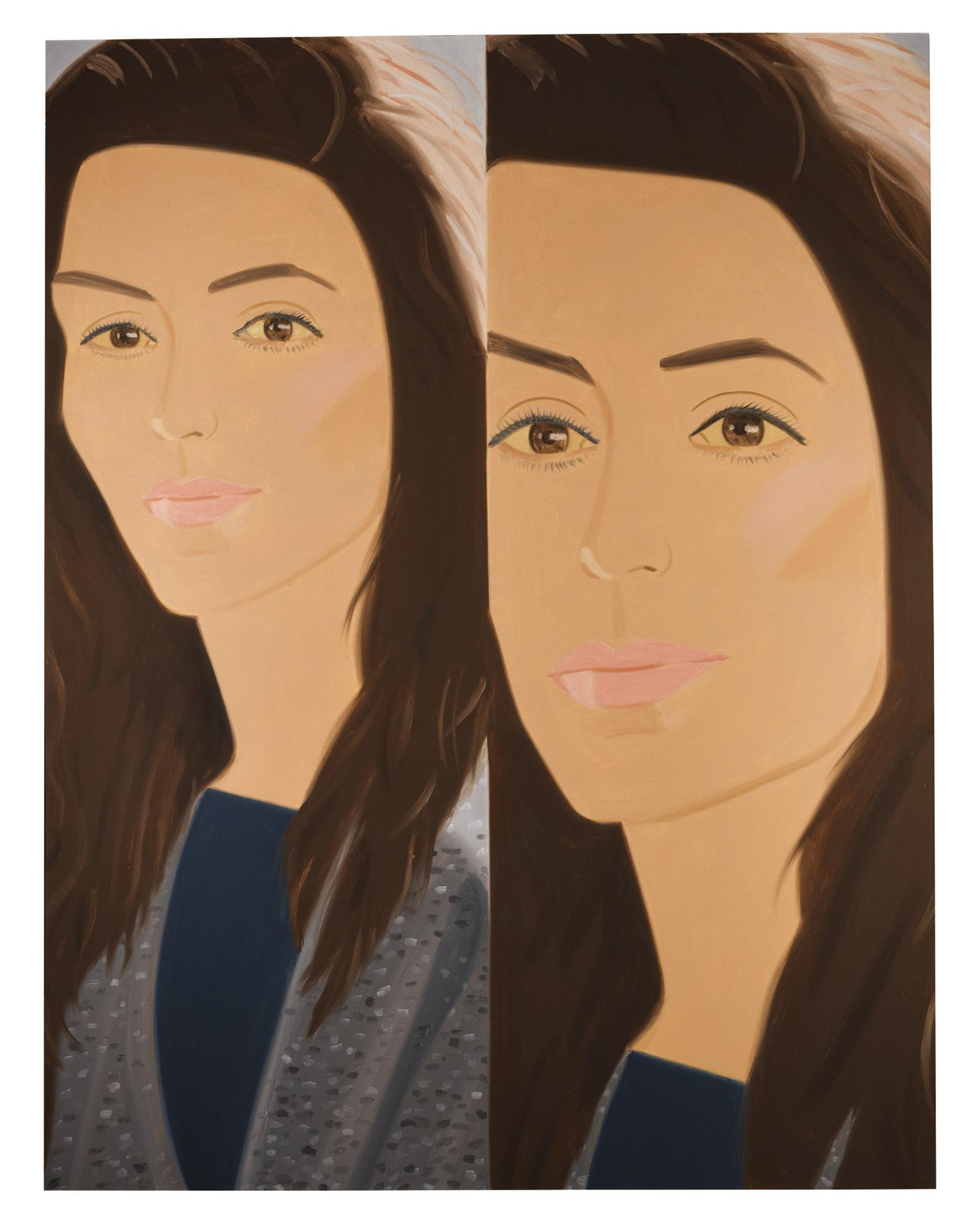 Alex Katz-Tweed Sweater-1987