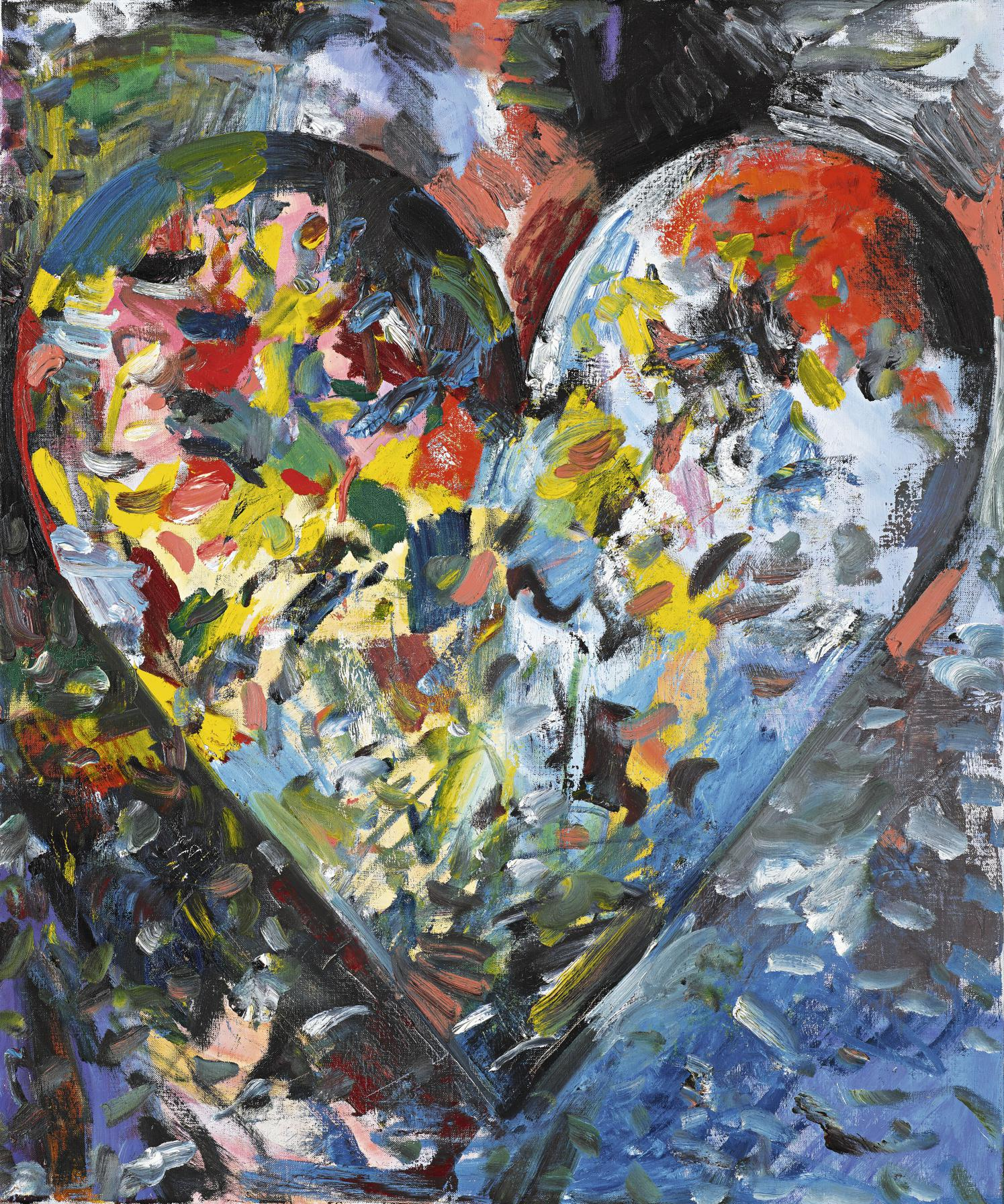 Jim Dine-Small Heart In Pain-1984