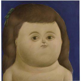 Fernando Botero-Girl-1965