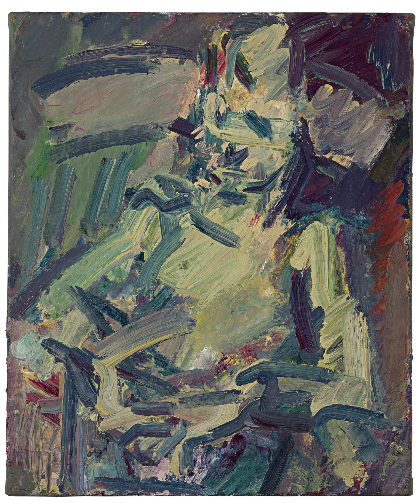 Frank Auerbach-Catherine Lampert Seated Ii-2012
