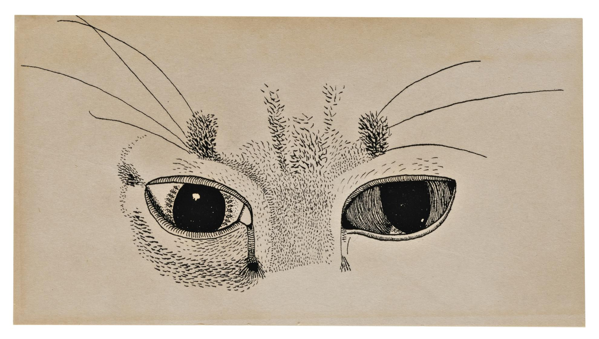 Lucian Freud-Cats Eyes-1947