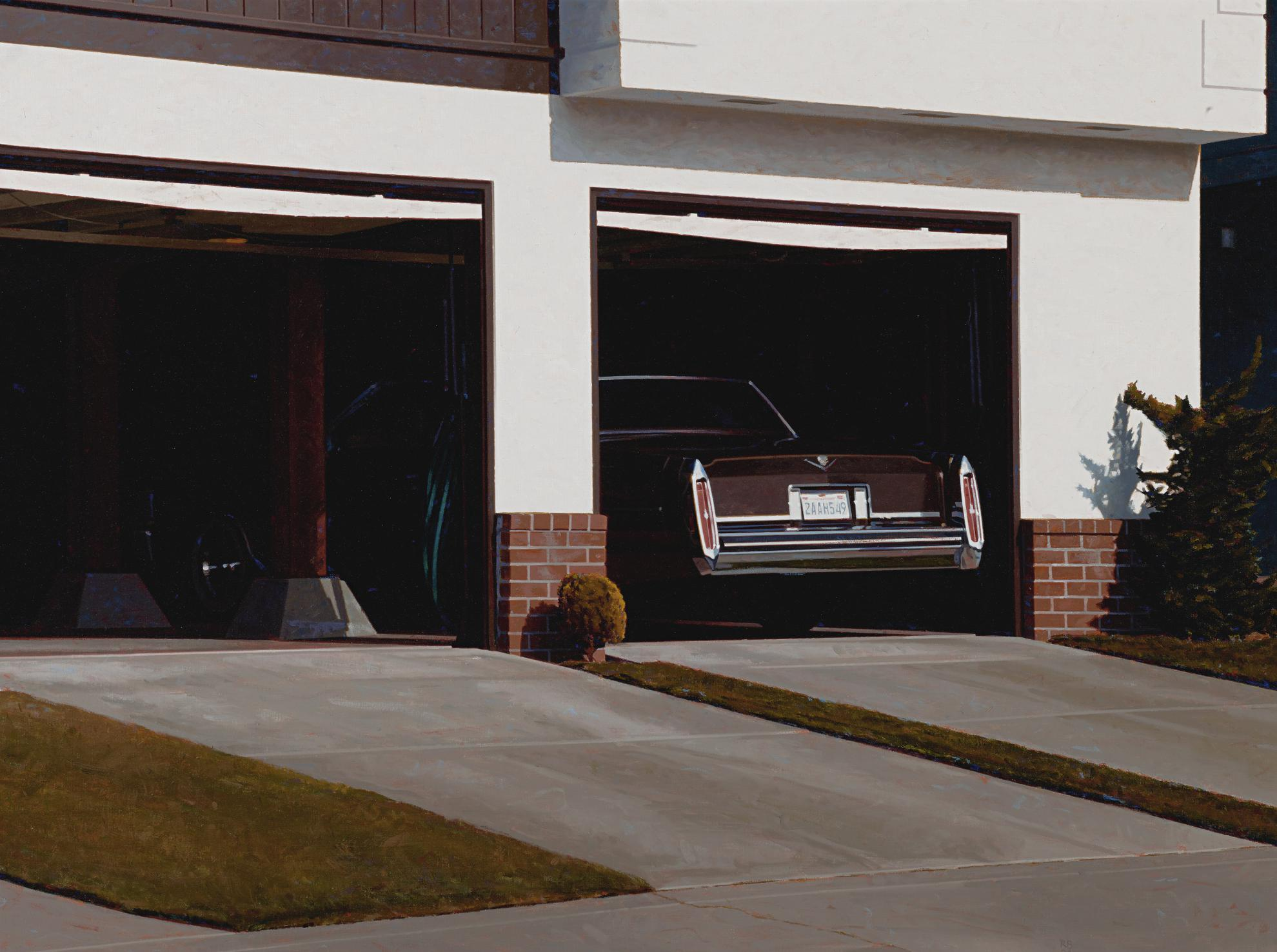 Robert Bechtle-Sunset Garage-1994