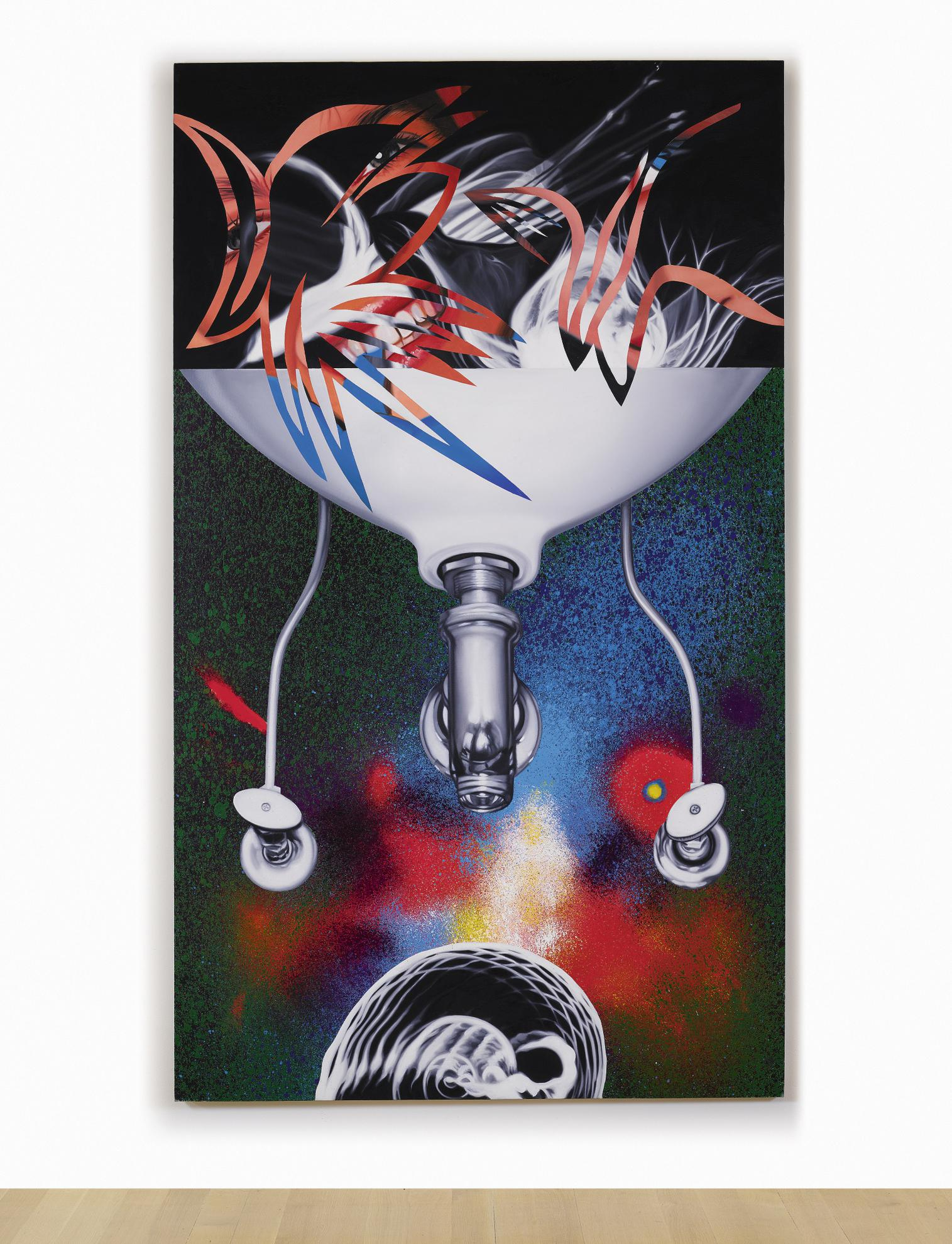 James Rosenquist-Where The Water Goes-1988