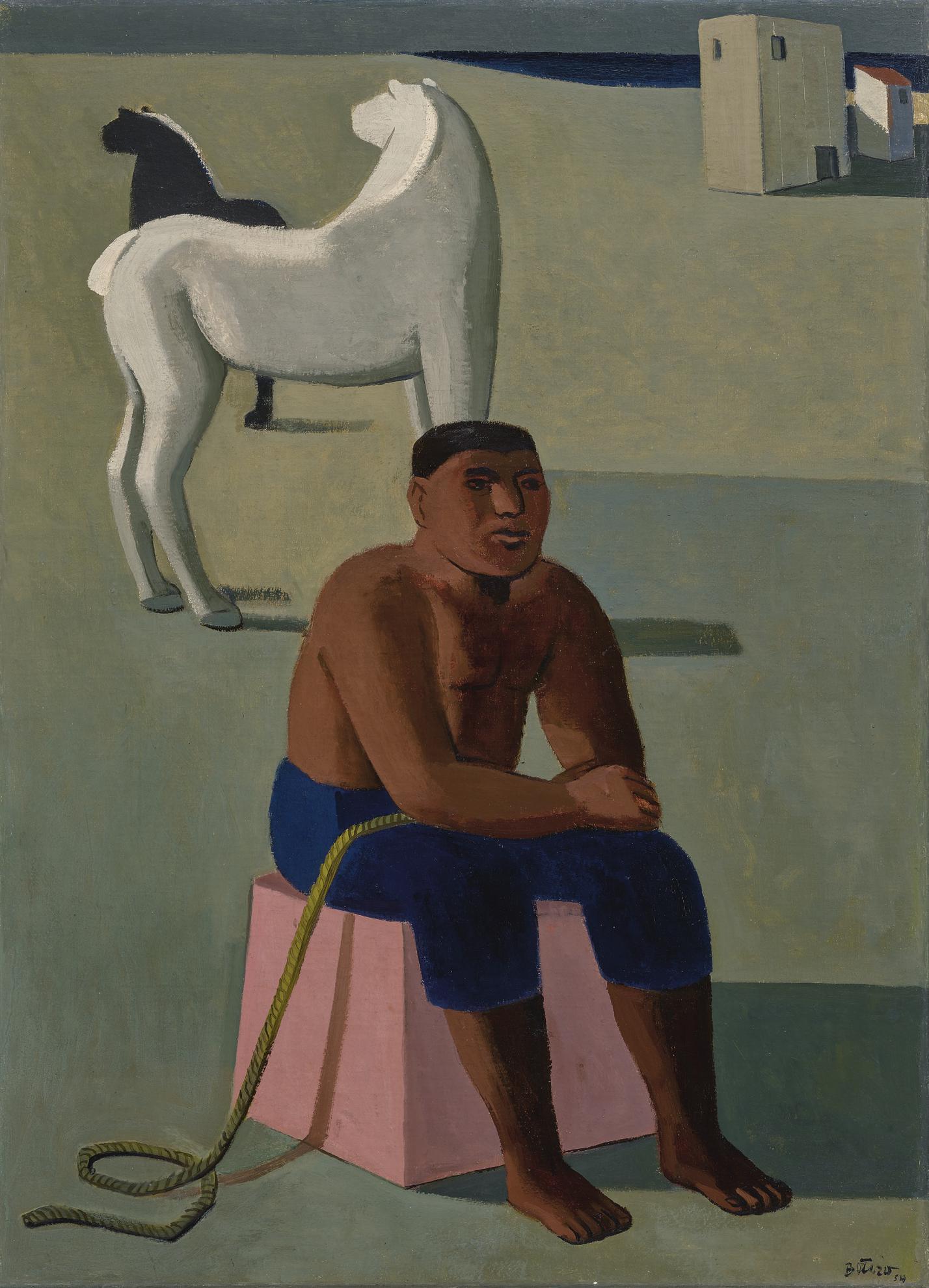 Fernando Botero-Untitled-1954