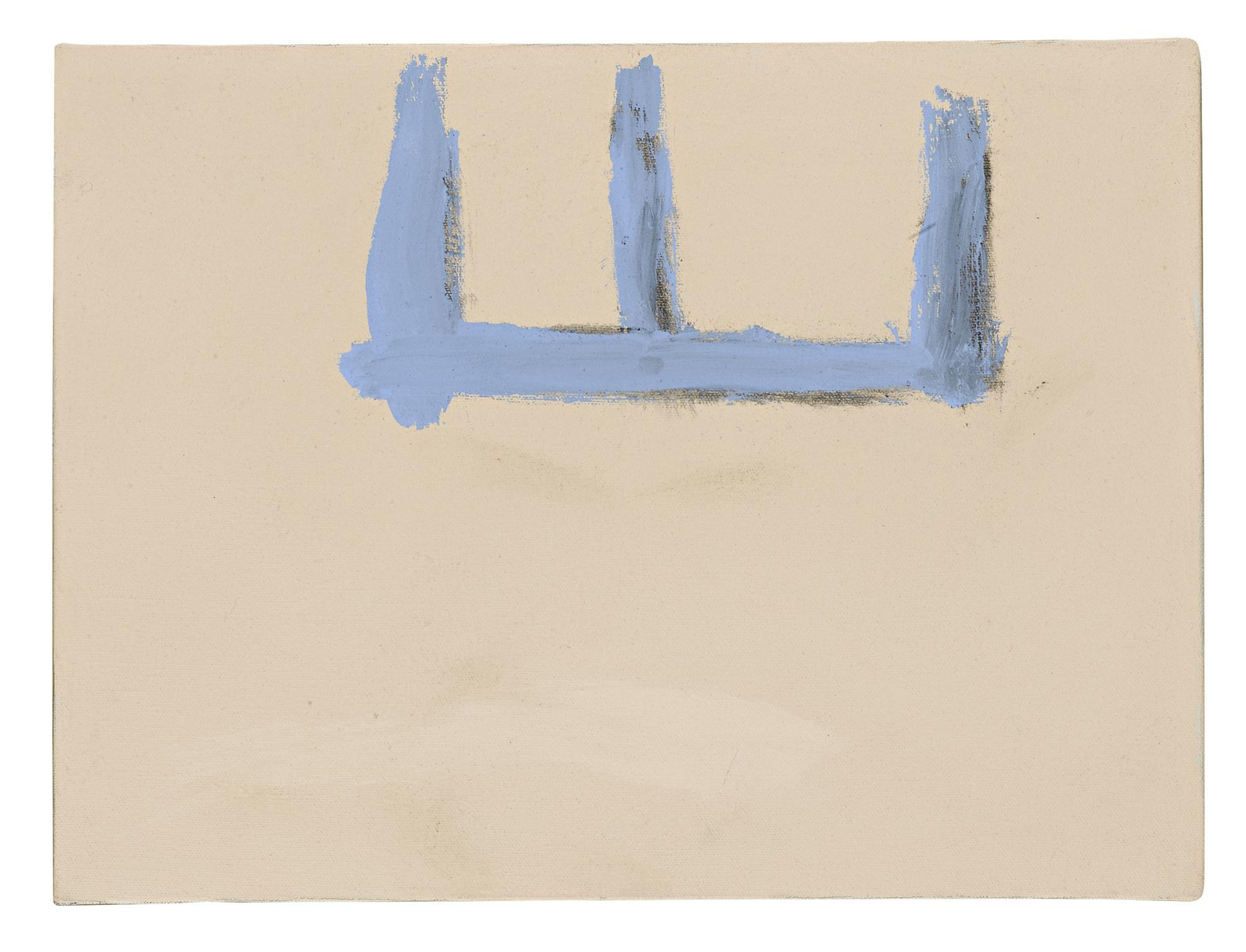 Robert Motherwell-Open No. 136: Blue On Beige-1969