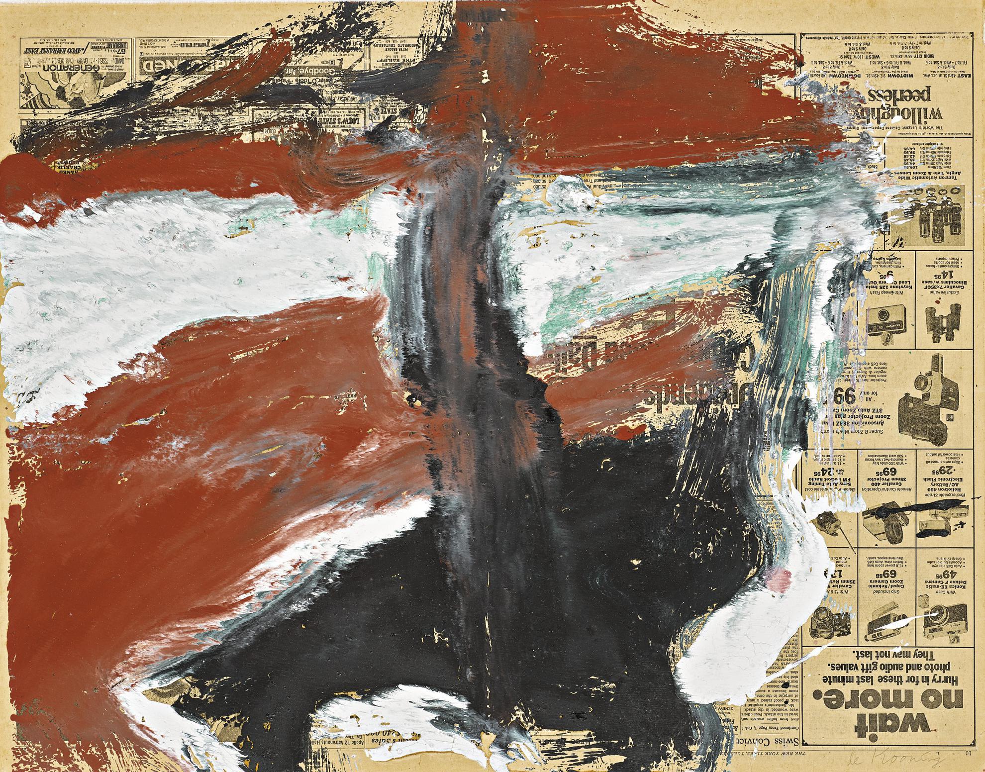 Willem de Kooning-Untitled-1969