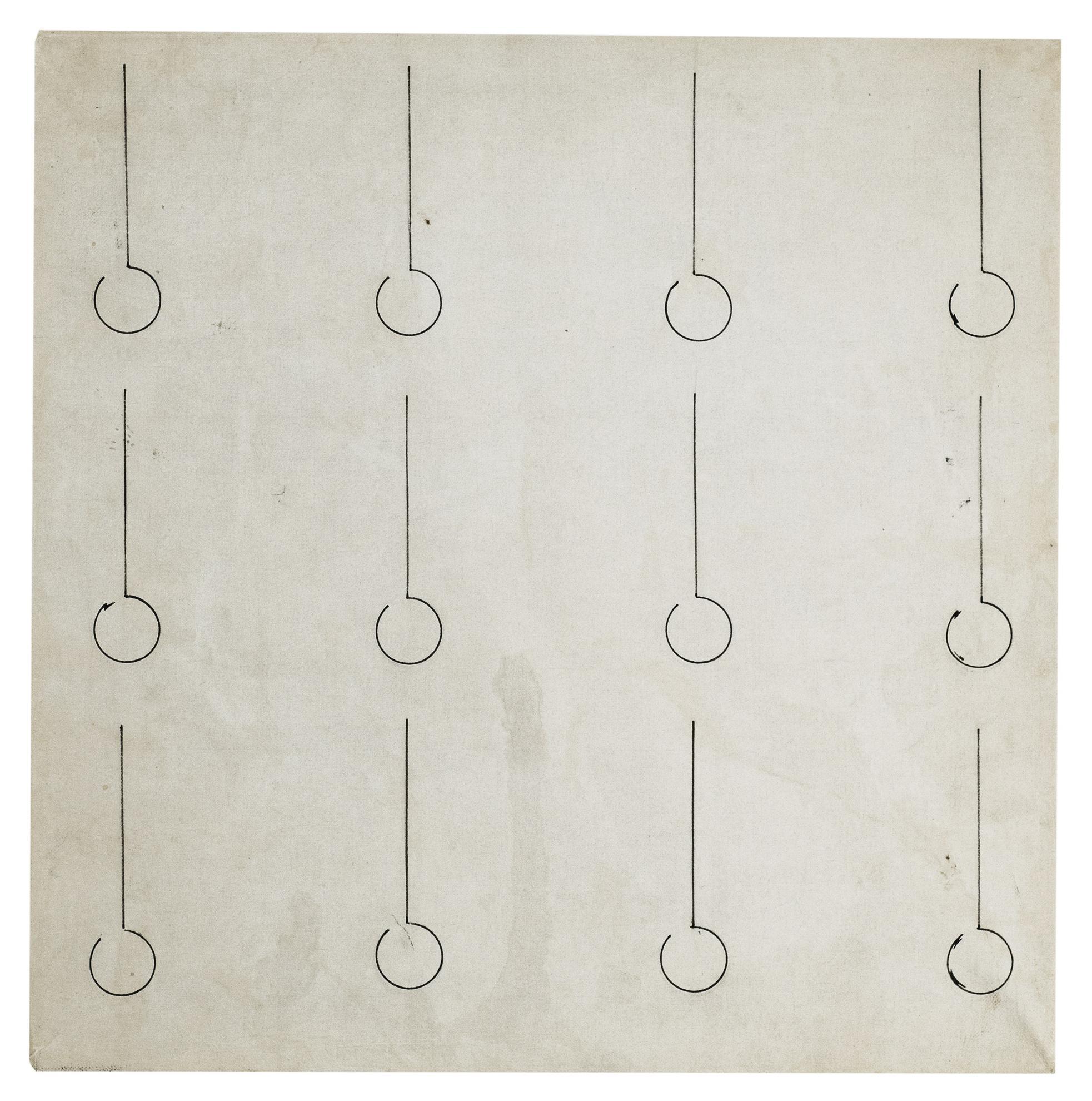 Agnes Martin-Untitled-1960