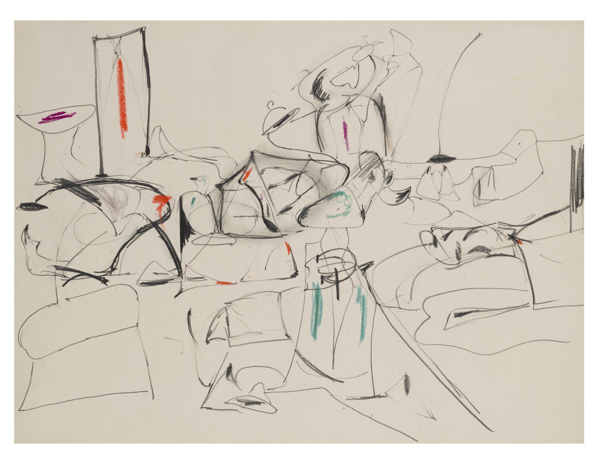 Arshile Gorky-Untitled-1945