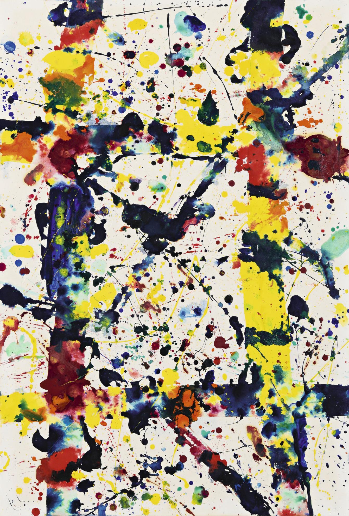 Sam Francis-Untitled-1977