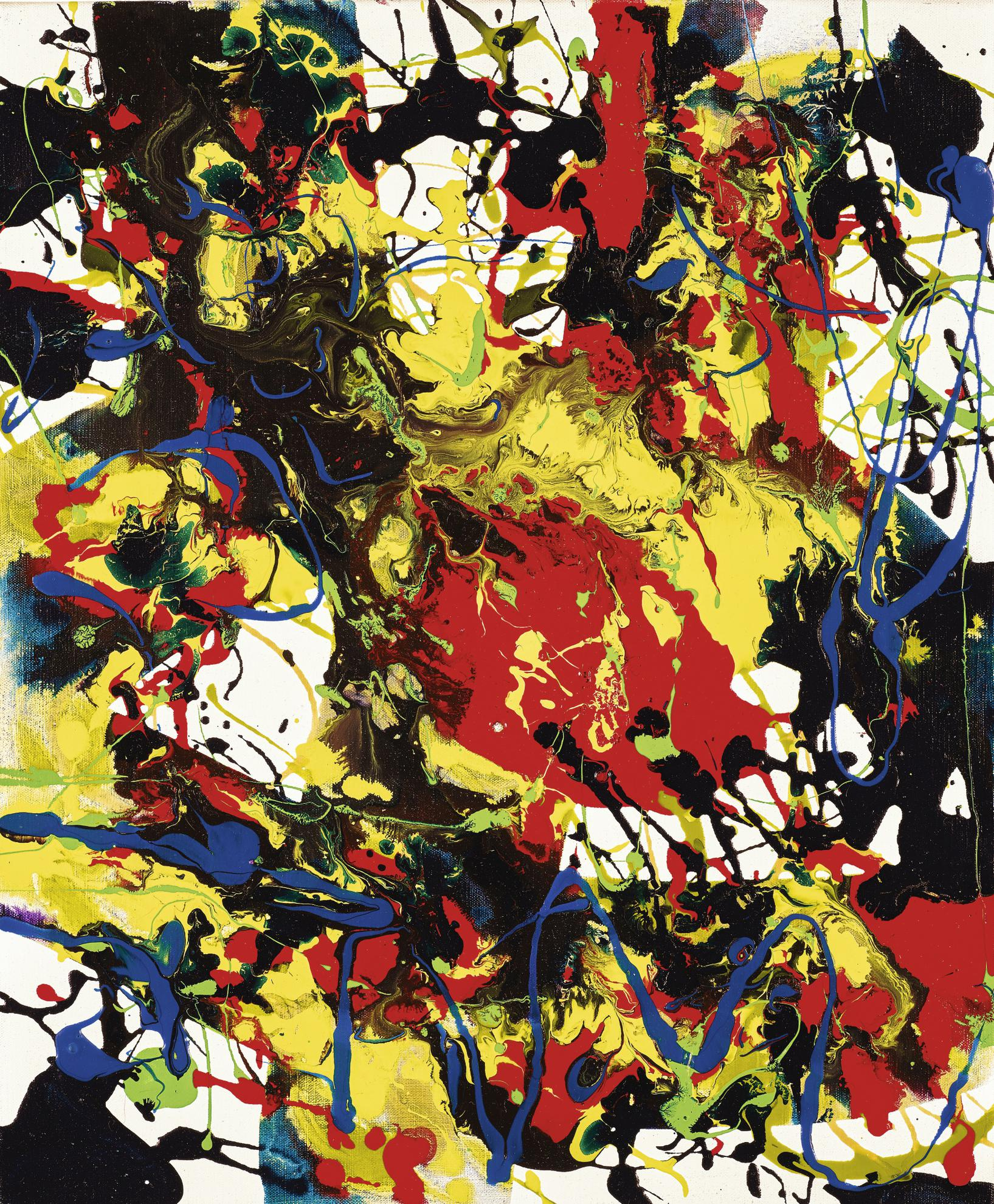 Sam Francis-Untitled-1994
