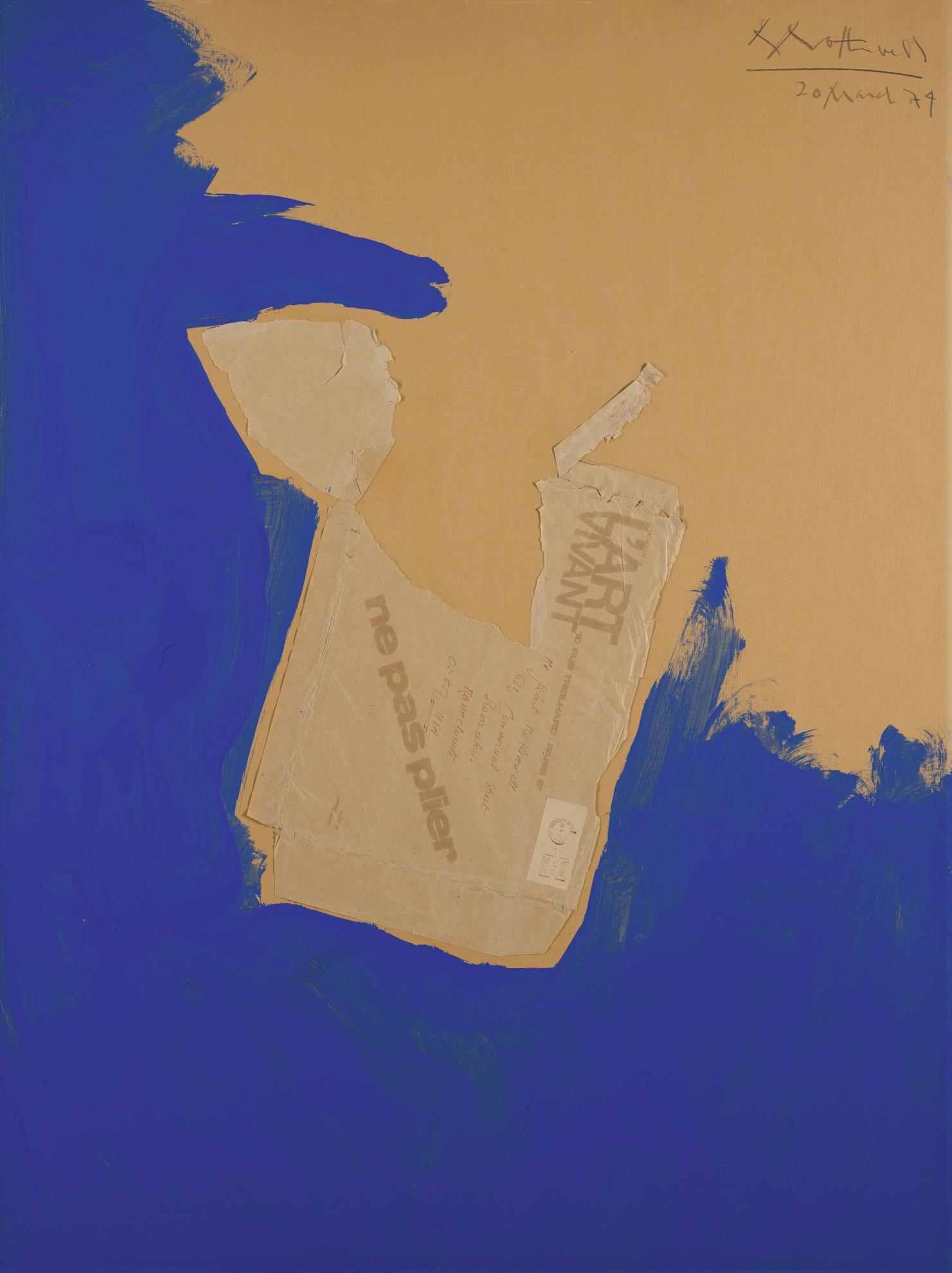 Robert Motherwell-The Baltic Sea Bride No. II-1974