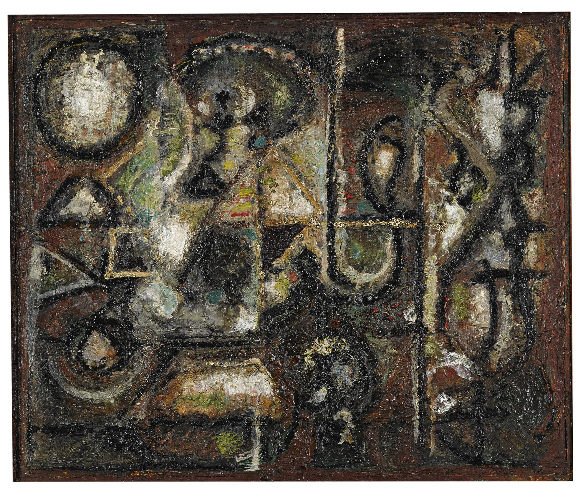 Richard Pousette-Dart-Oriental Lights-1945