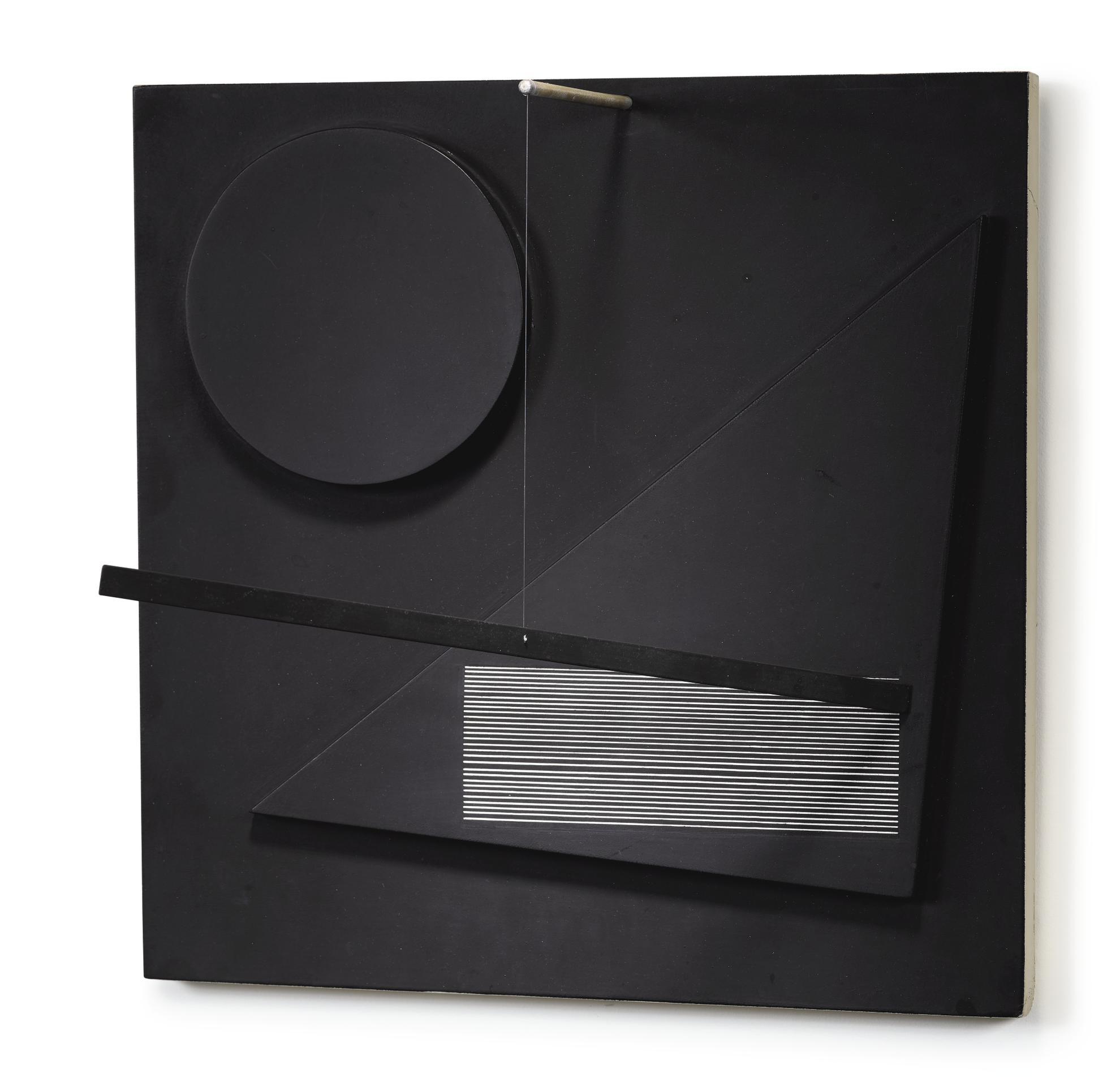 Jesus Rafael Soto-Untitled (Sculpture Mobile)-1964