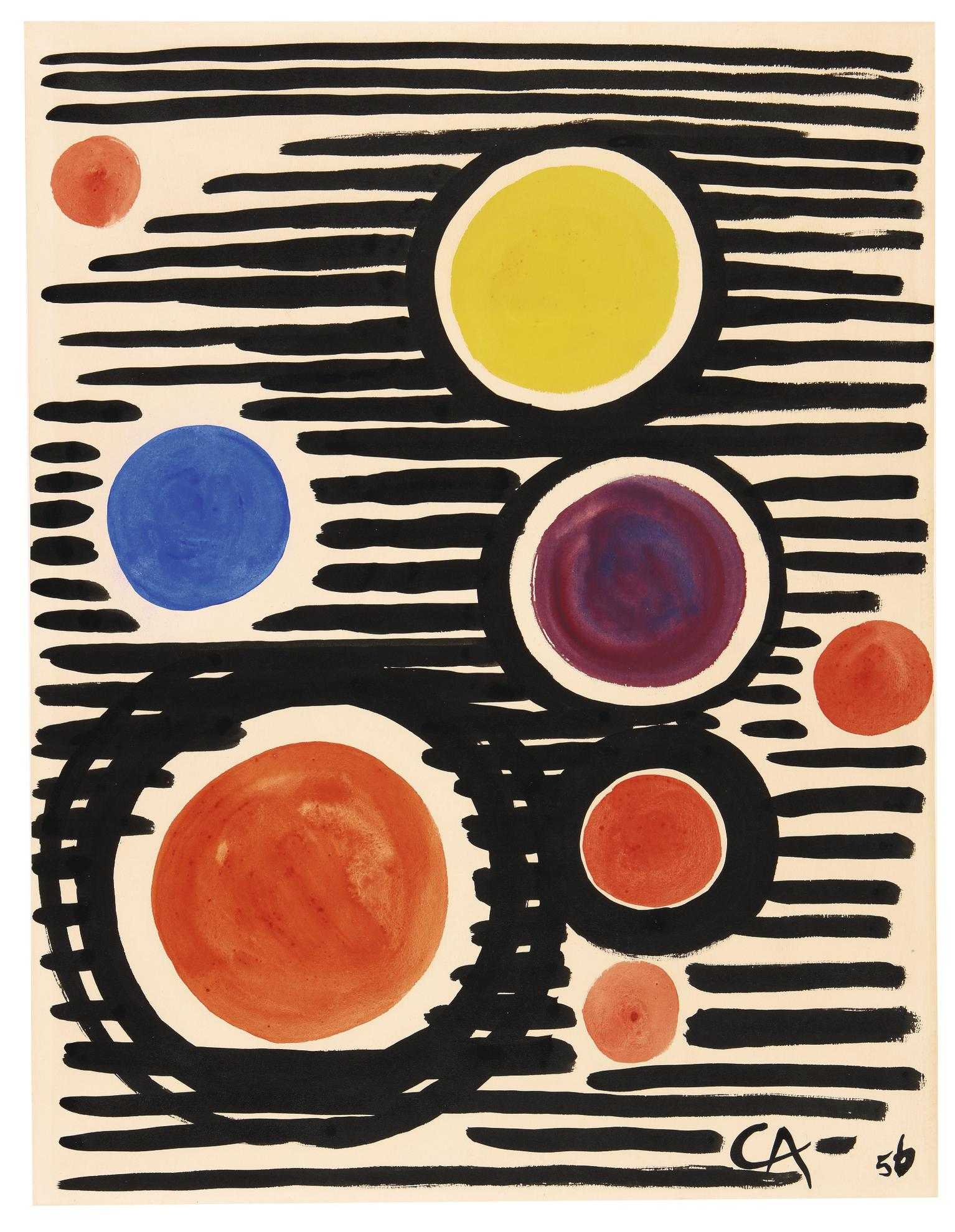 Alexander Calder-Untitled-1956