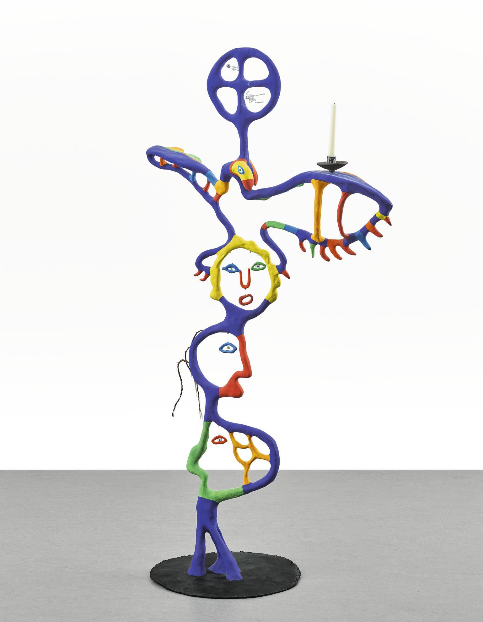Niki De Saint-Phalle - Blue Magic-1980