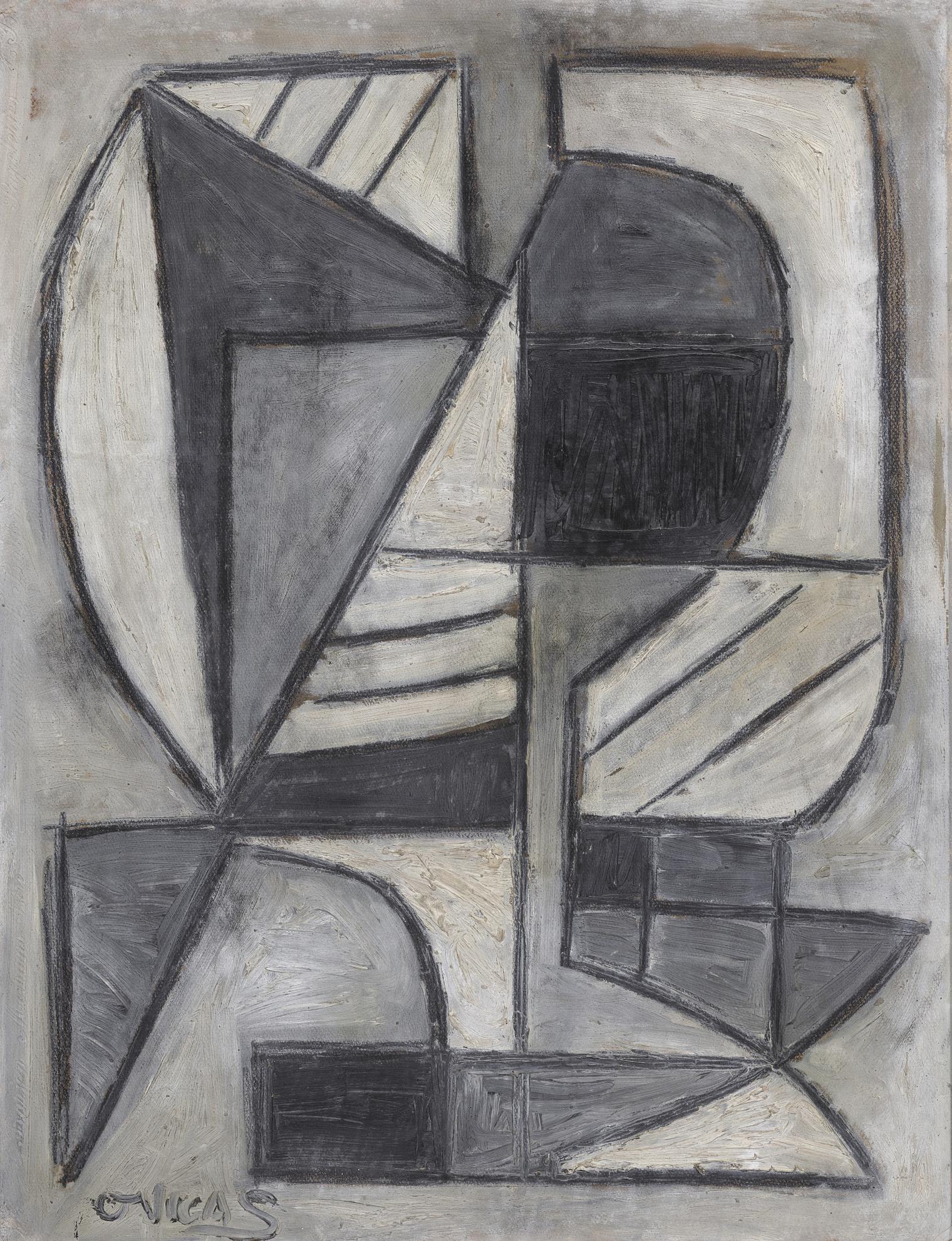 Oswaldo Vigas-Untitled-1956