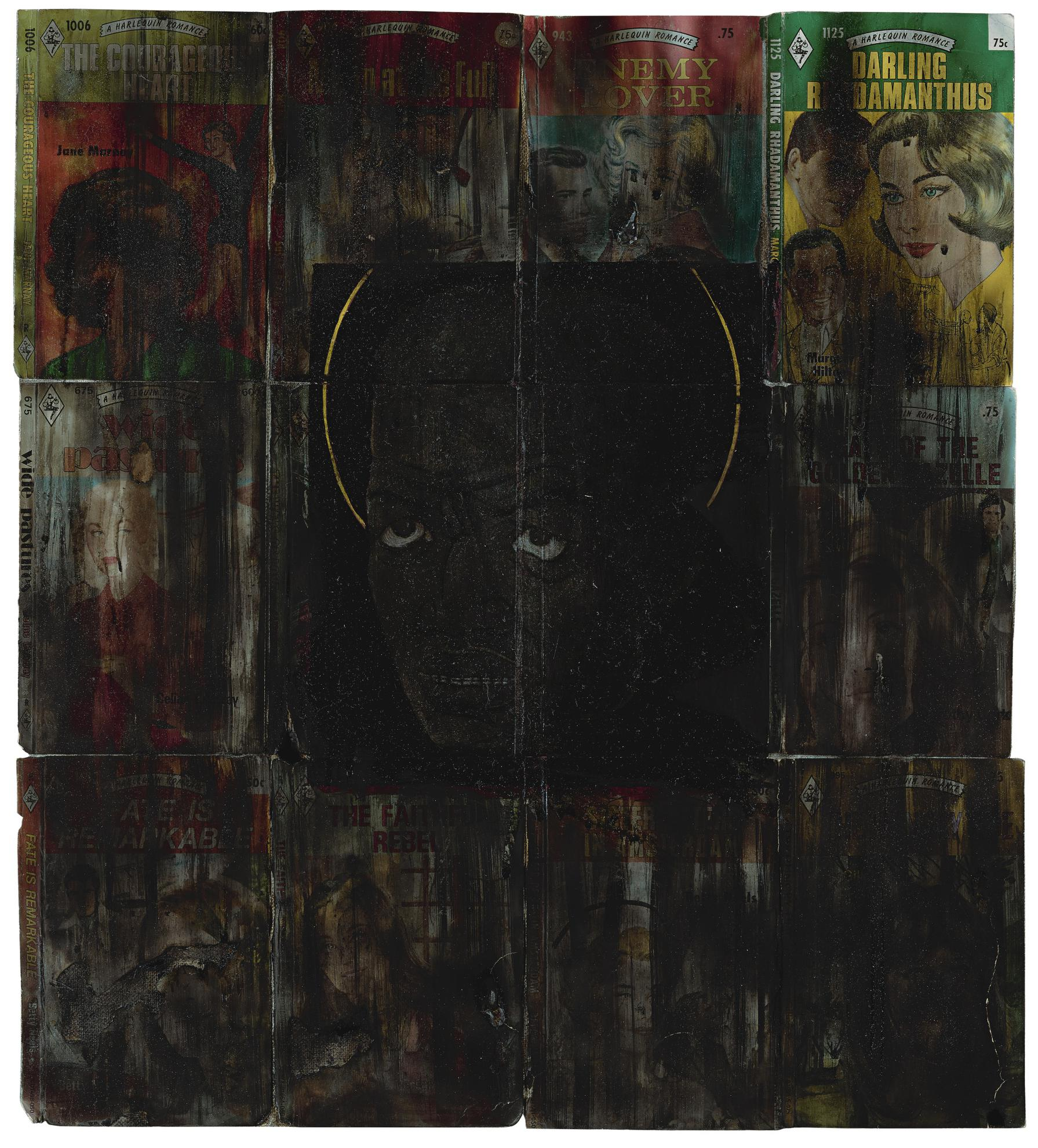 Kerry James Marshall-Portrait Of Nat Turner On Loan From Hell-1990