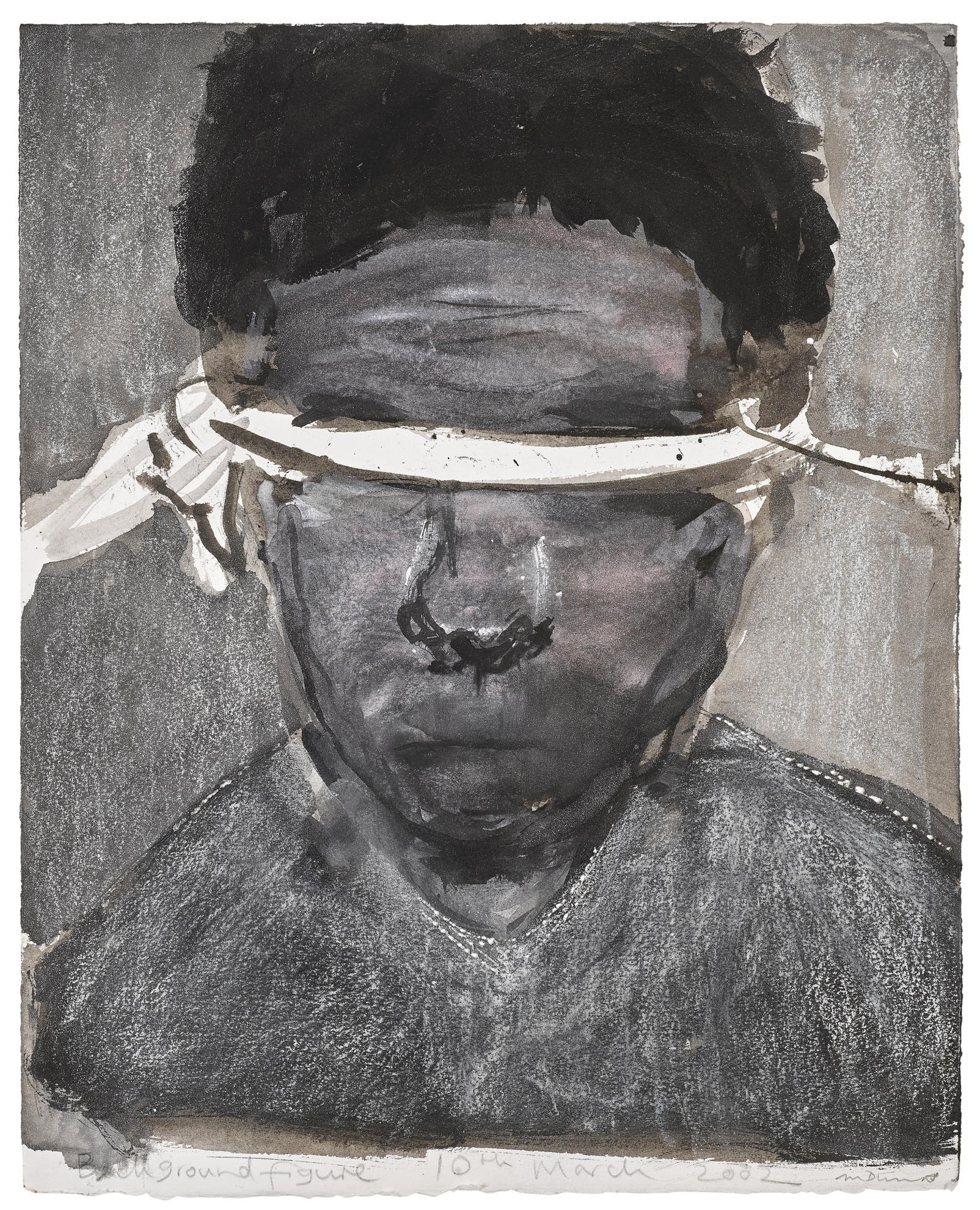 Marlene Dumas-Background Figure-2002