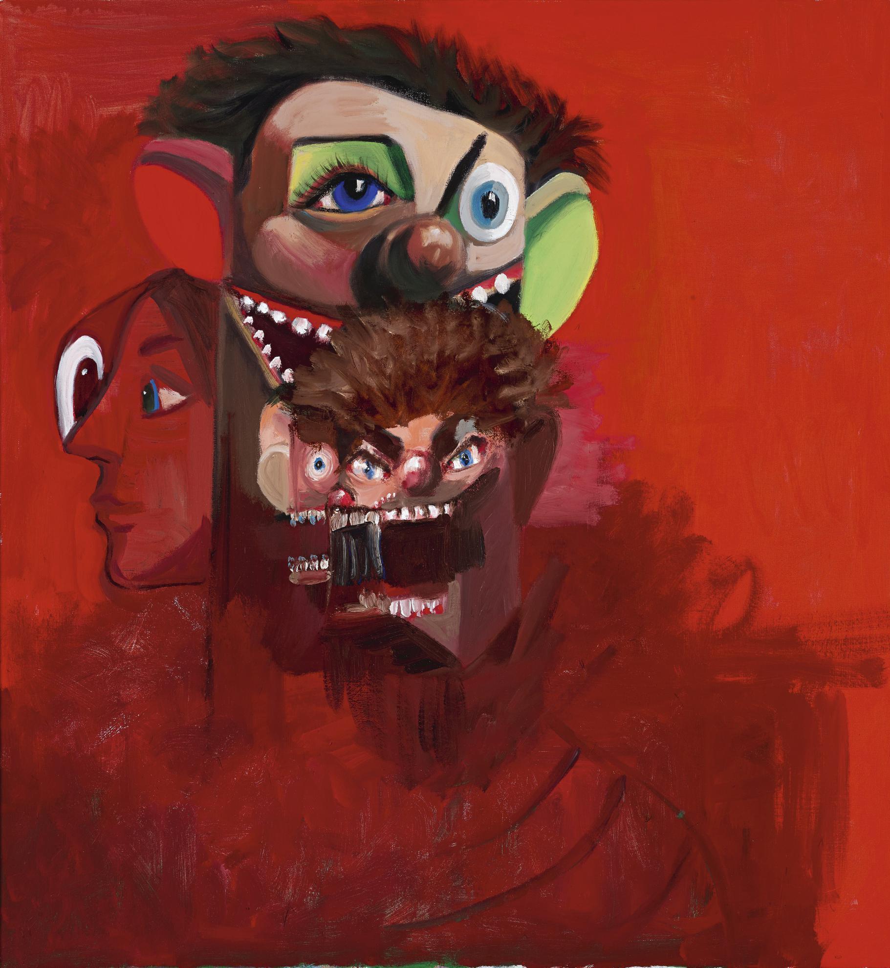 George Condo-Inner Turmoil-2006