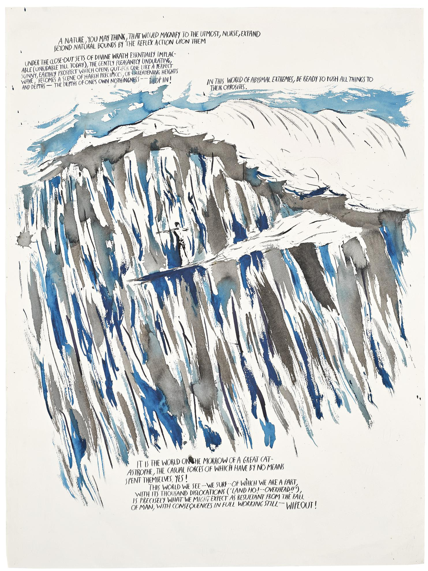 Raymond Pettibon-Untitled (A Nature You May...)-1993