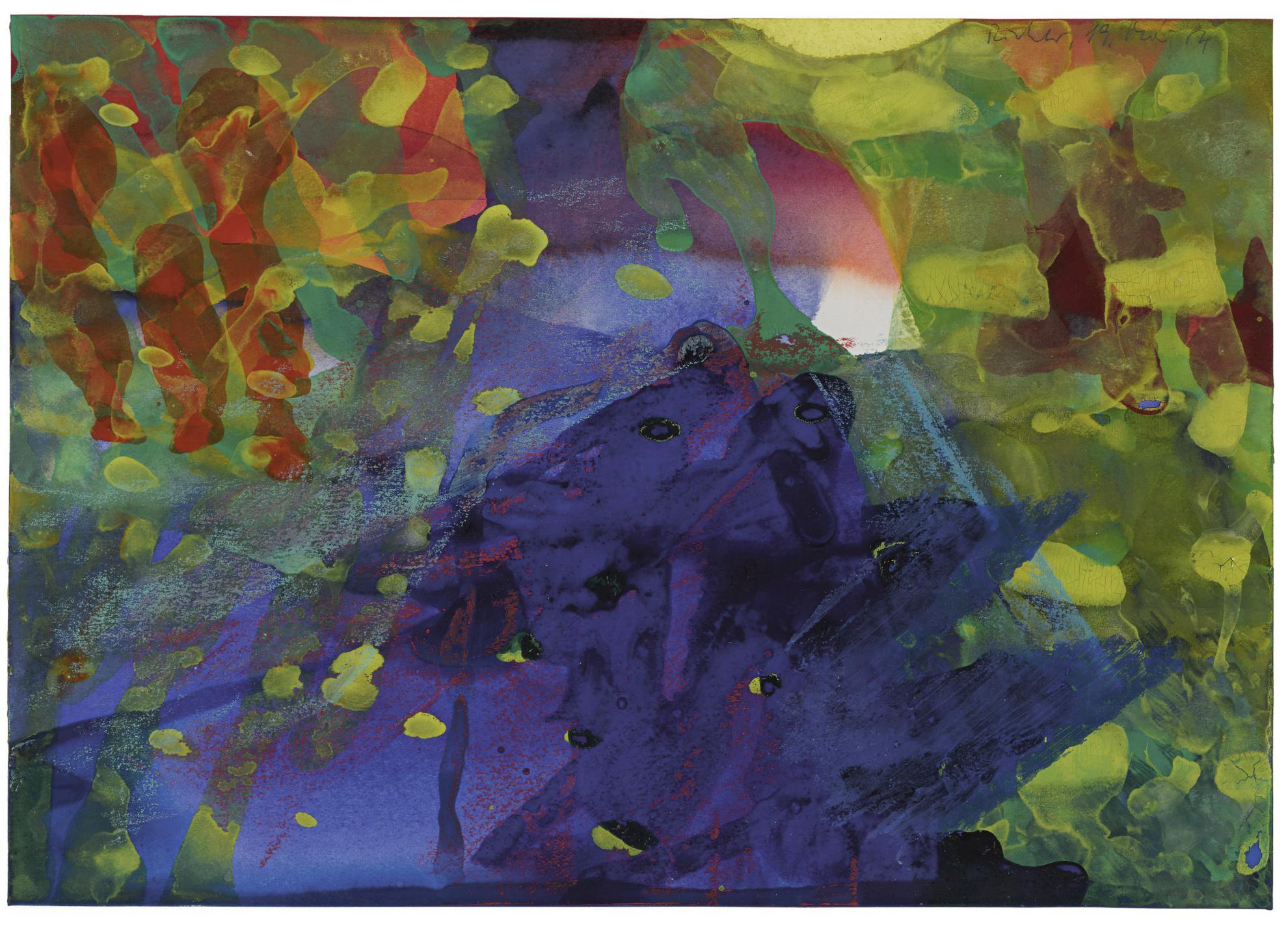 Gerhard Richter-Untitled (19. Mai 84)-1984