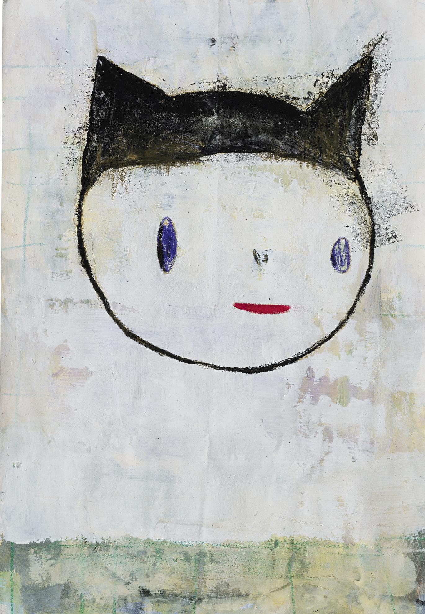 Yoshitomo Nara-Untitled-1991
