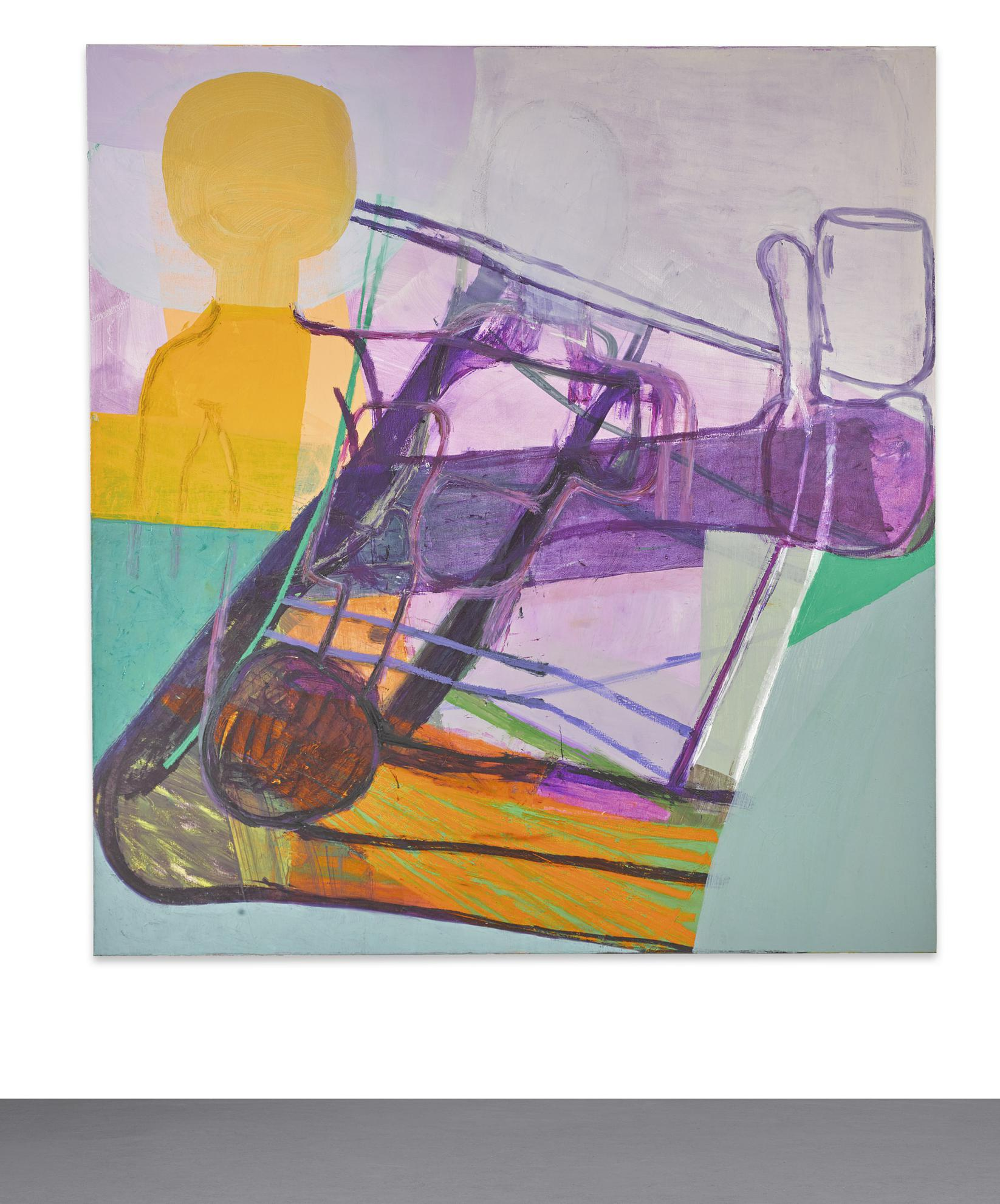 Amy Sillman-Purple/Pipesmoker-2009