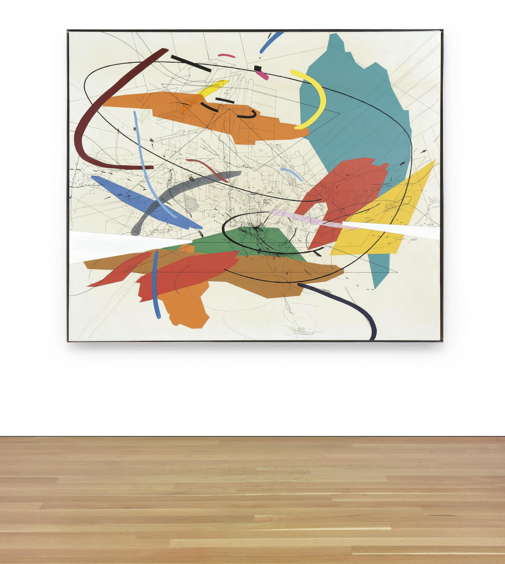 Julie Mehretu-Untitled 2-1999