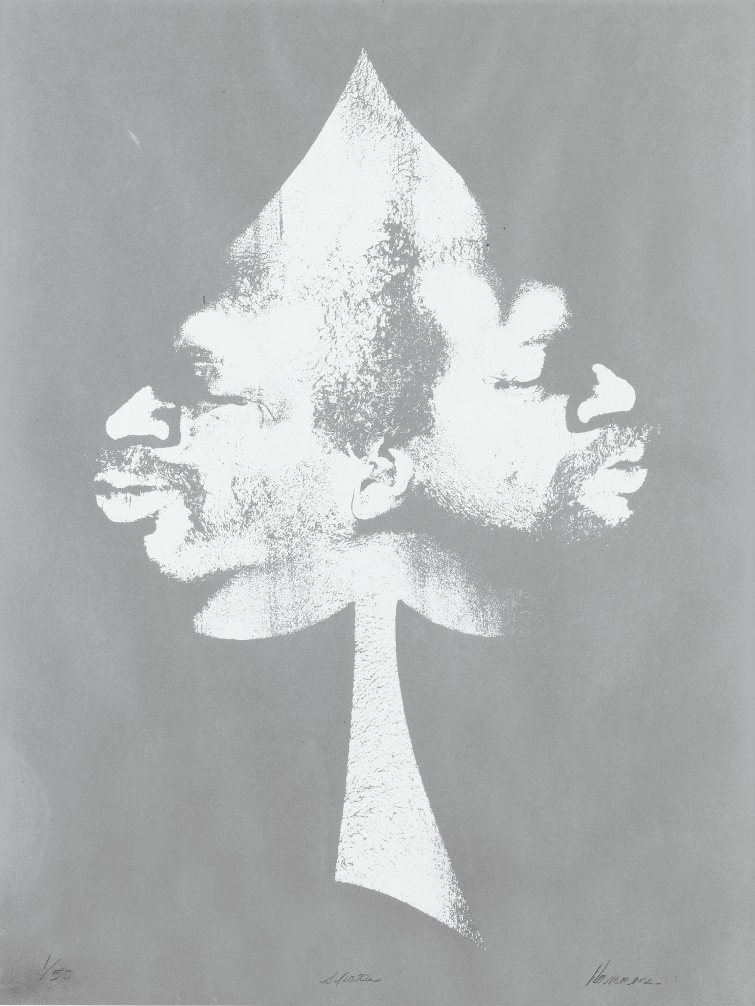 David Hammons-Spade-1972