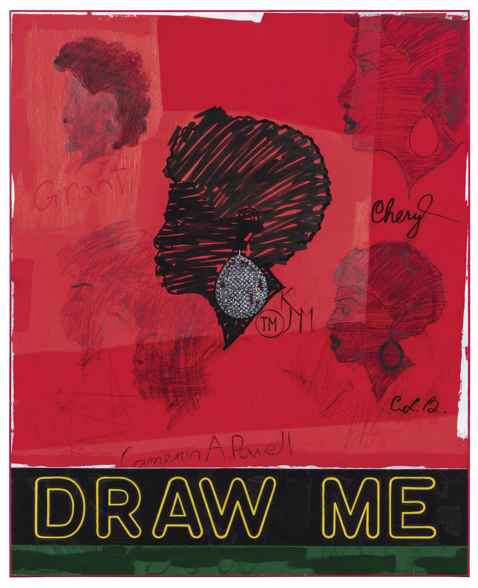 Kerry James Marshall-Draw Me-2012