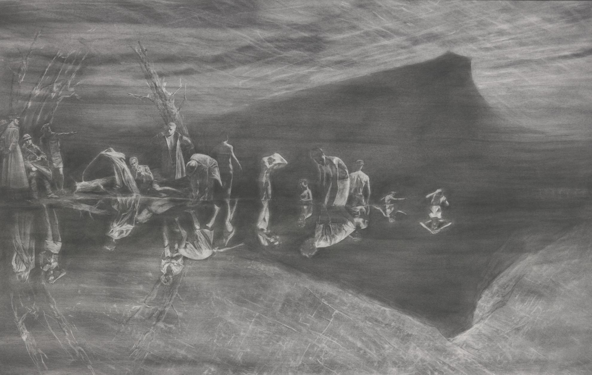Mark Tansey-Mont Sainte-Victoire-1998