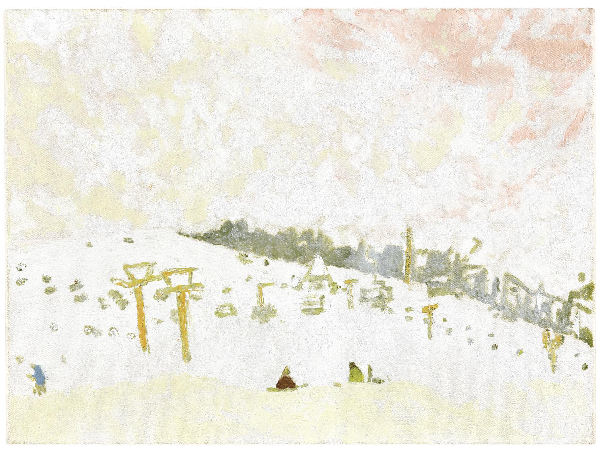 Peter Doig-Pink Snow-1996