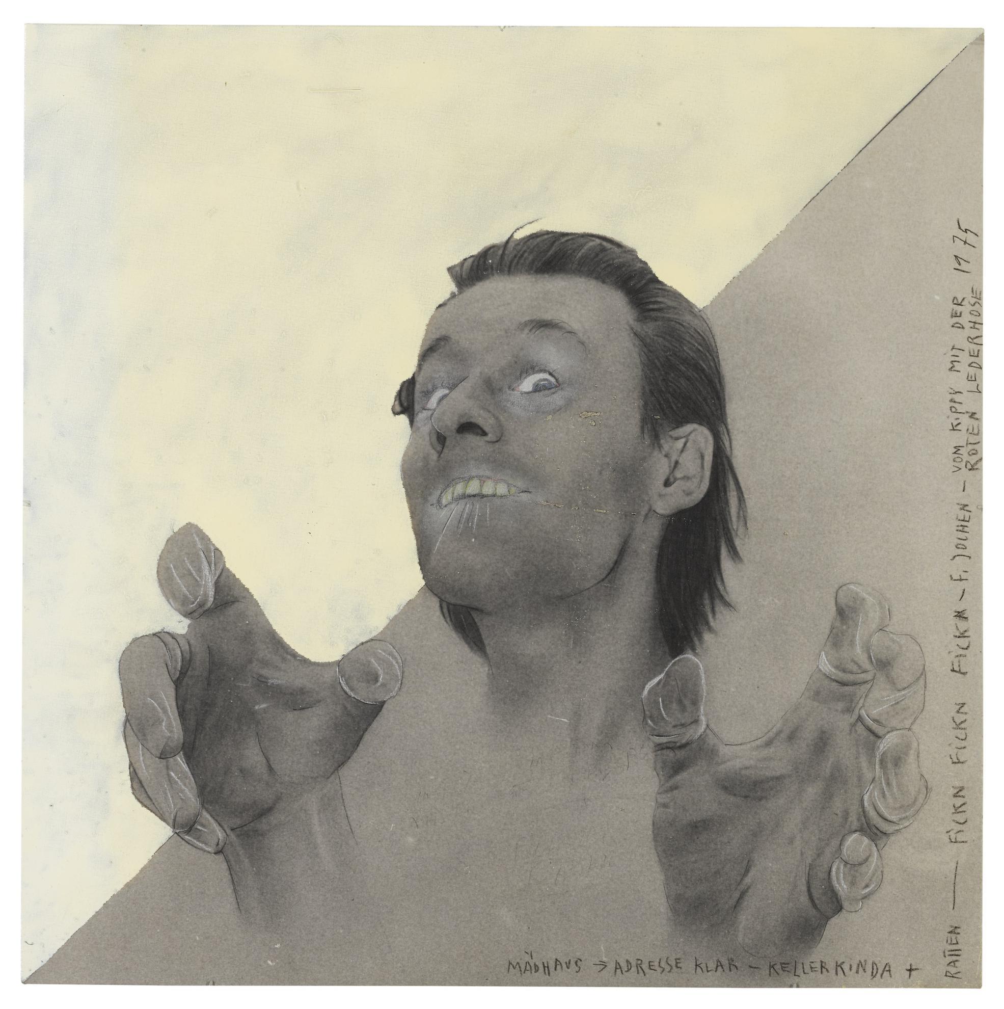 Martin Kippenberger-Fickn-1975
