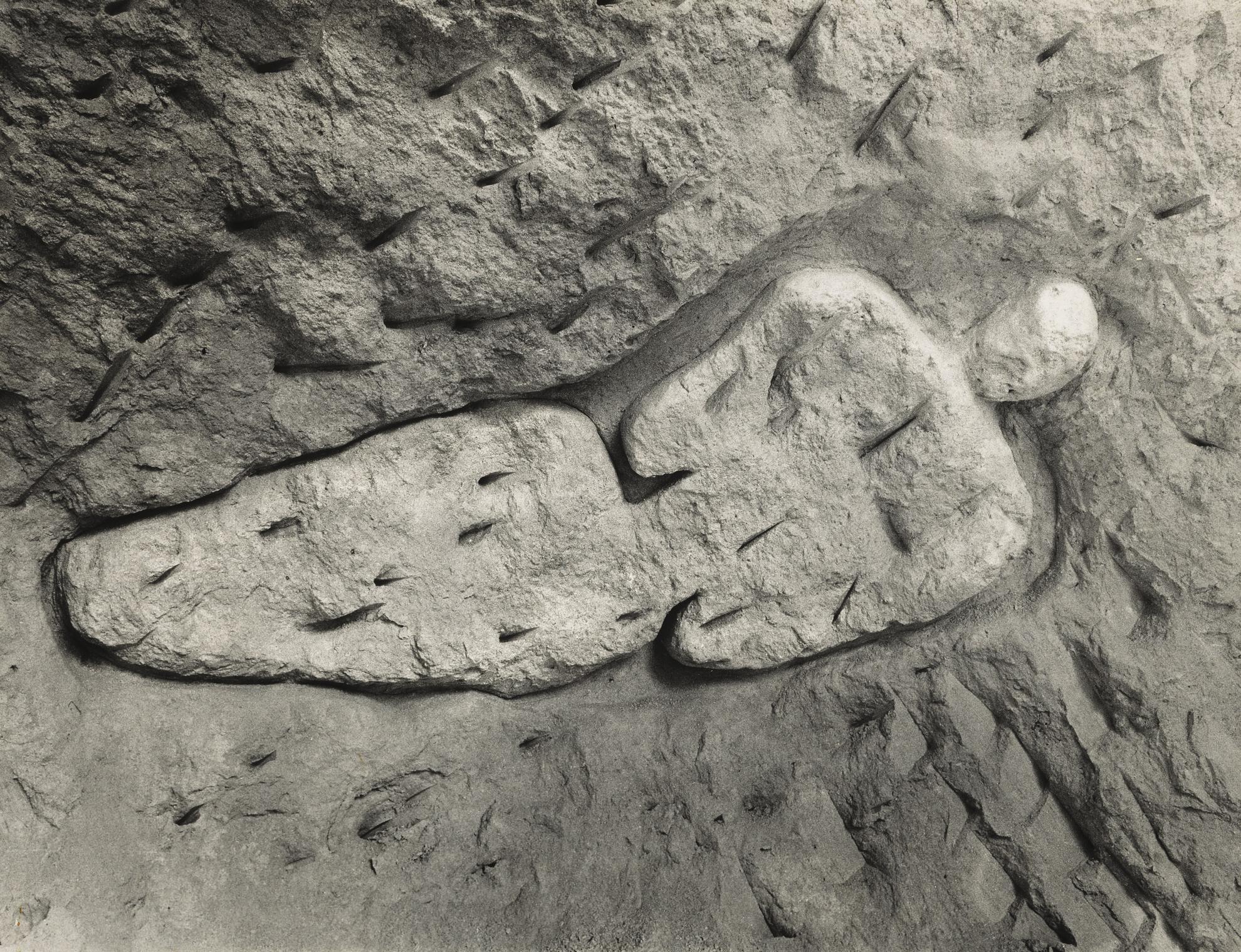 Ana Mendieta-Guabancex (Esculturas Rupestres) [Goddess Of The Wind (Rupestrian Sculptures)]-1981