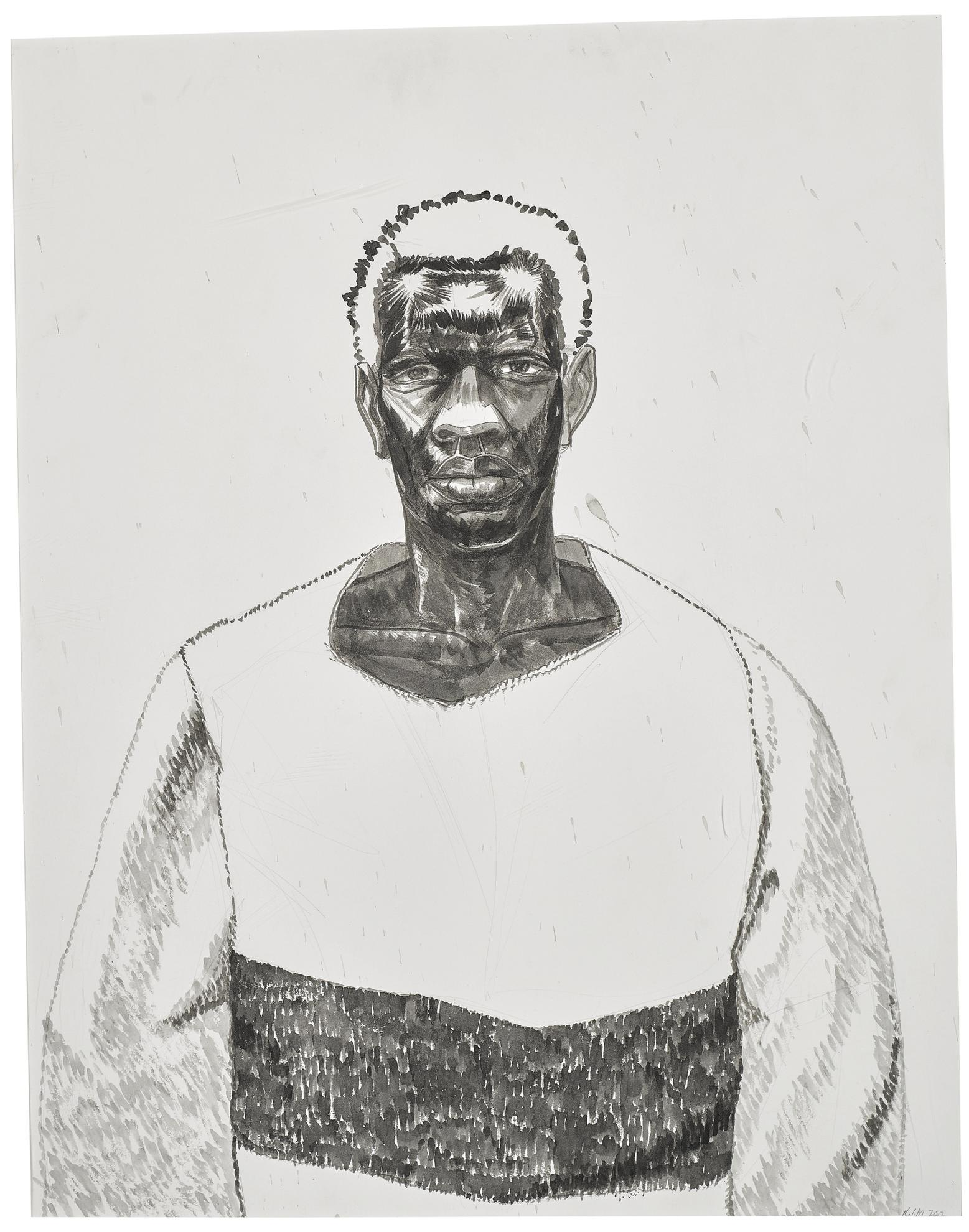 Kerry James Marshall-Untitled (Stono Drawing)-2012