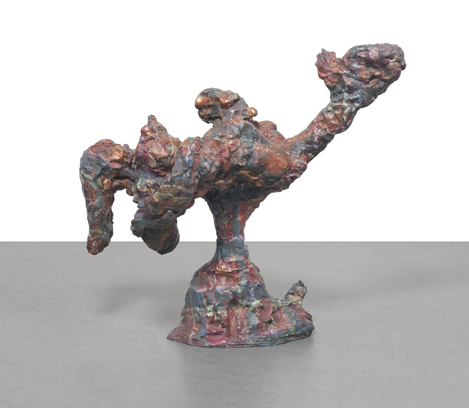 Rebecca Warren-Untitled (Tartan Dancer)-2008