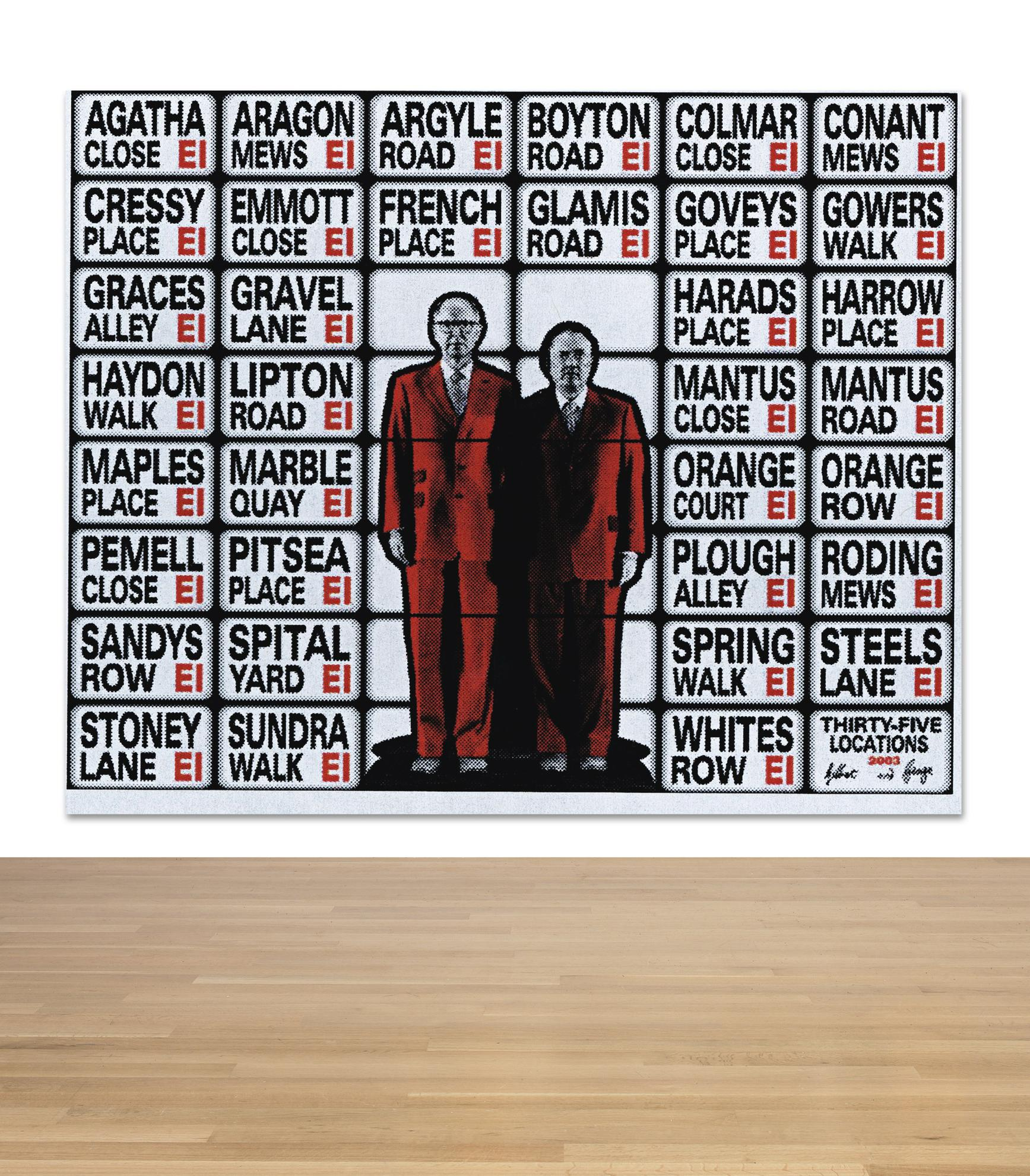 Gilbert and George-Thirty-Five Locations-2003