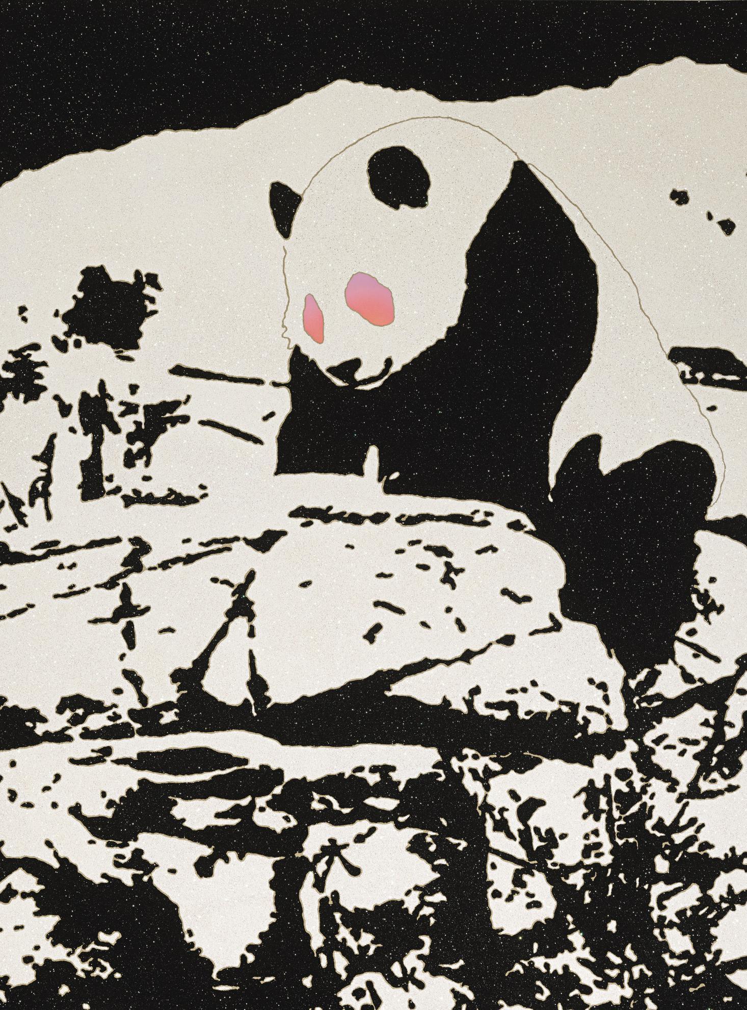 Rob Pruitt-Trippy Panda-2013