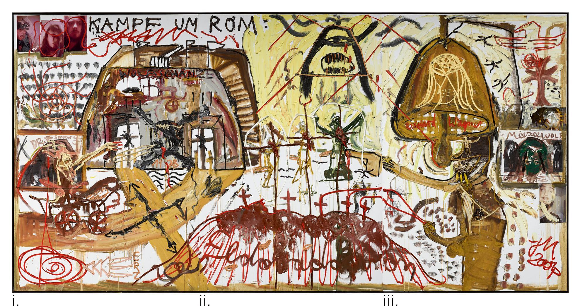 Jonathan Meese-Dr. Nos Verdun-2004