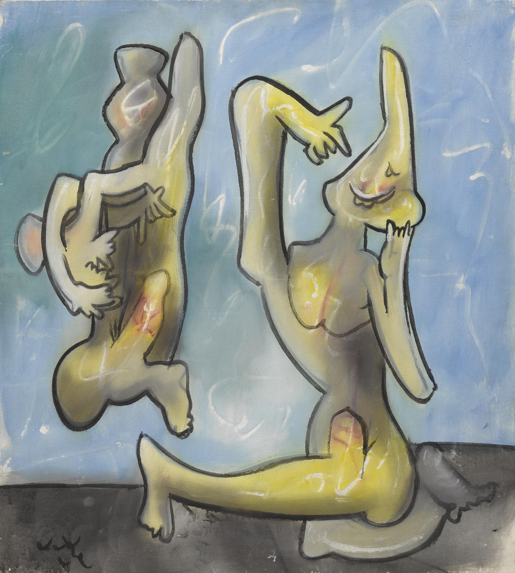 Roberto Matta-The Conversation-1973