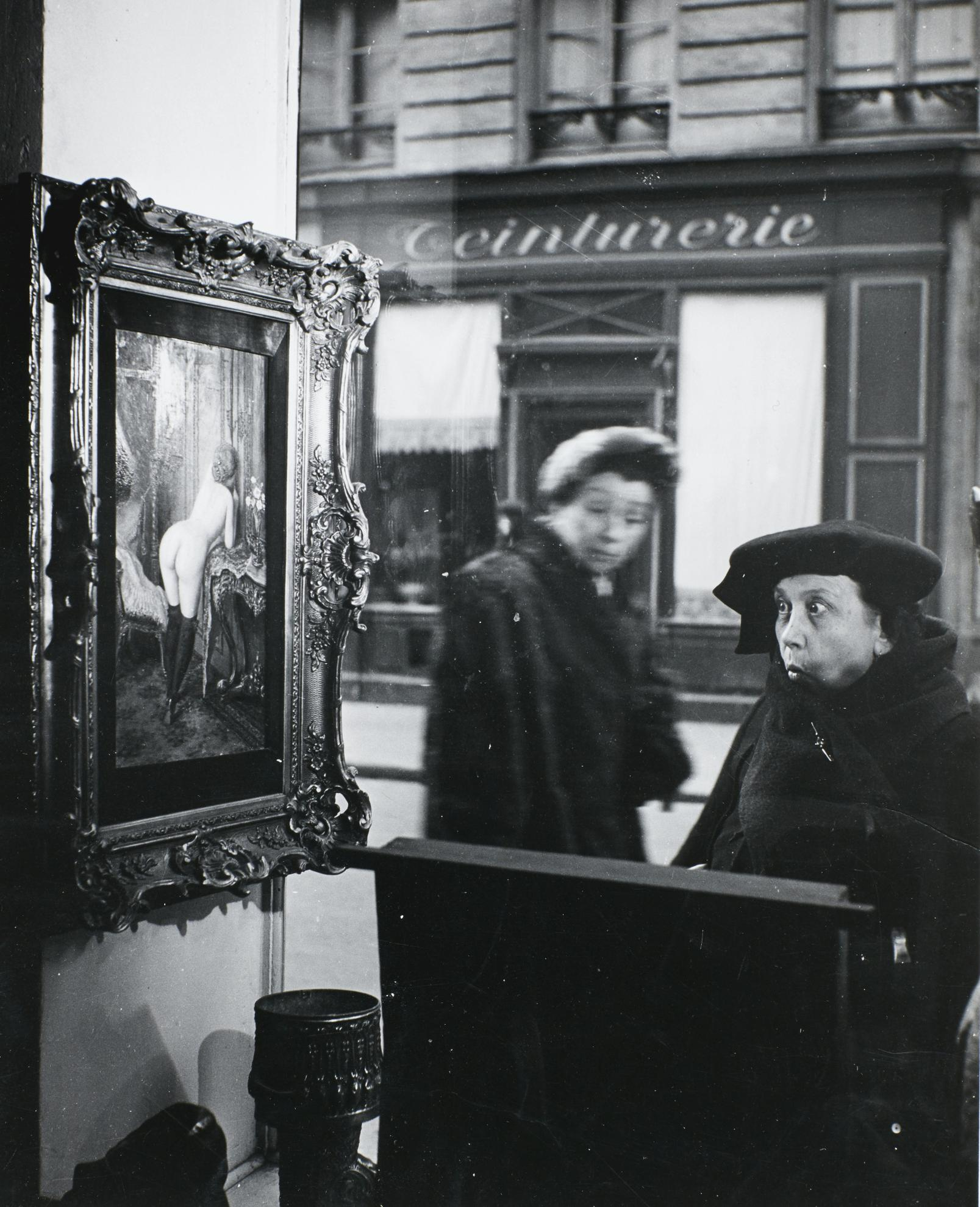 Robert Doisneau-La Dame Indignee, The Romi Gallery, Paris-1947