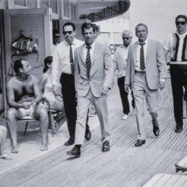 Terry O'Neill-Frank Sinatra On The Boardwalk, Miami-1968